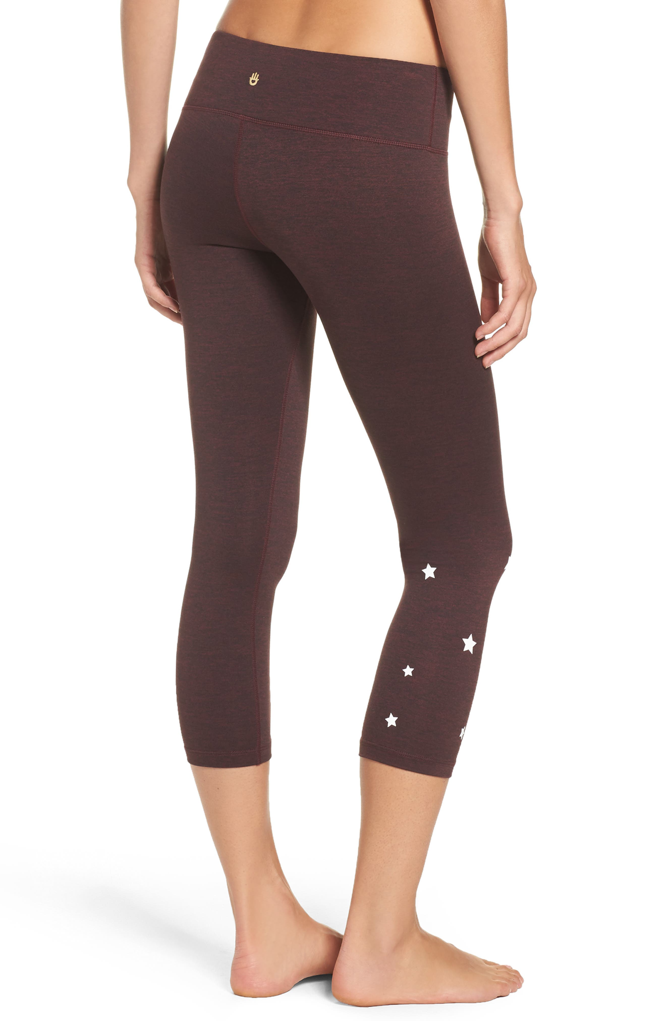 Stars Power Crop Leggings,                             Alternate thumbnail 2, color,                             602