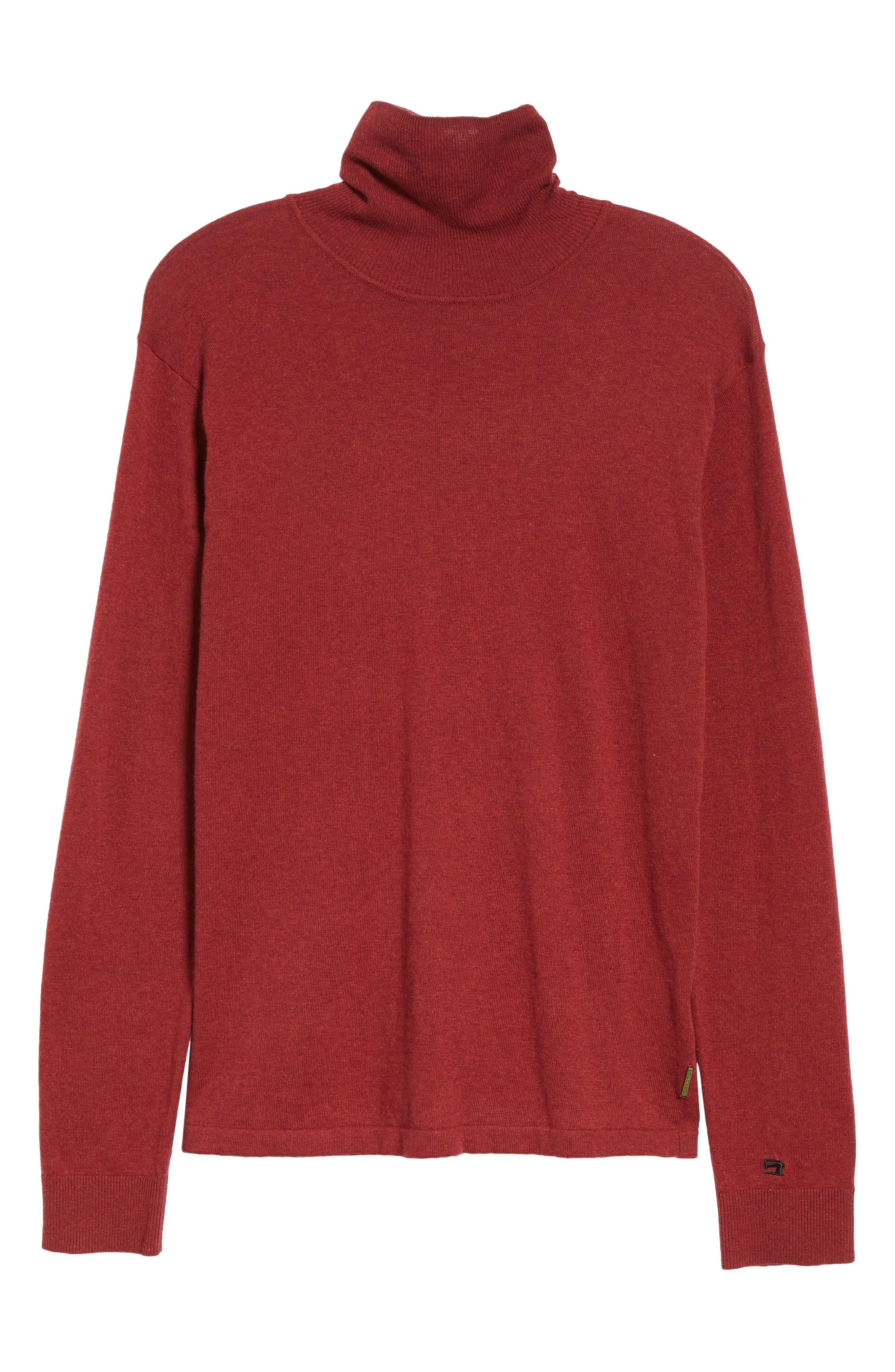 Turtleneck Sweater,                             Alternate thumbnail 6, color,                             610