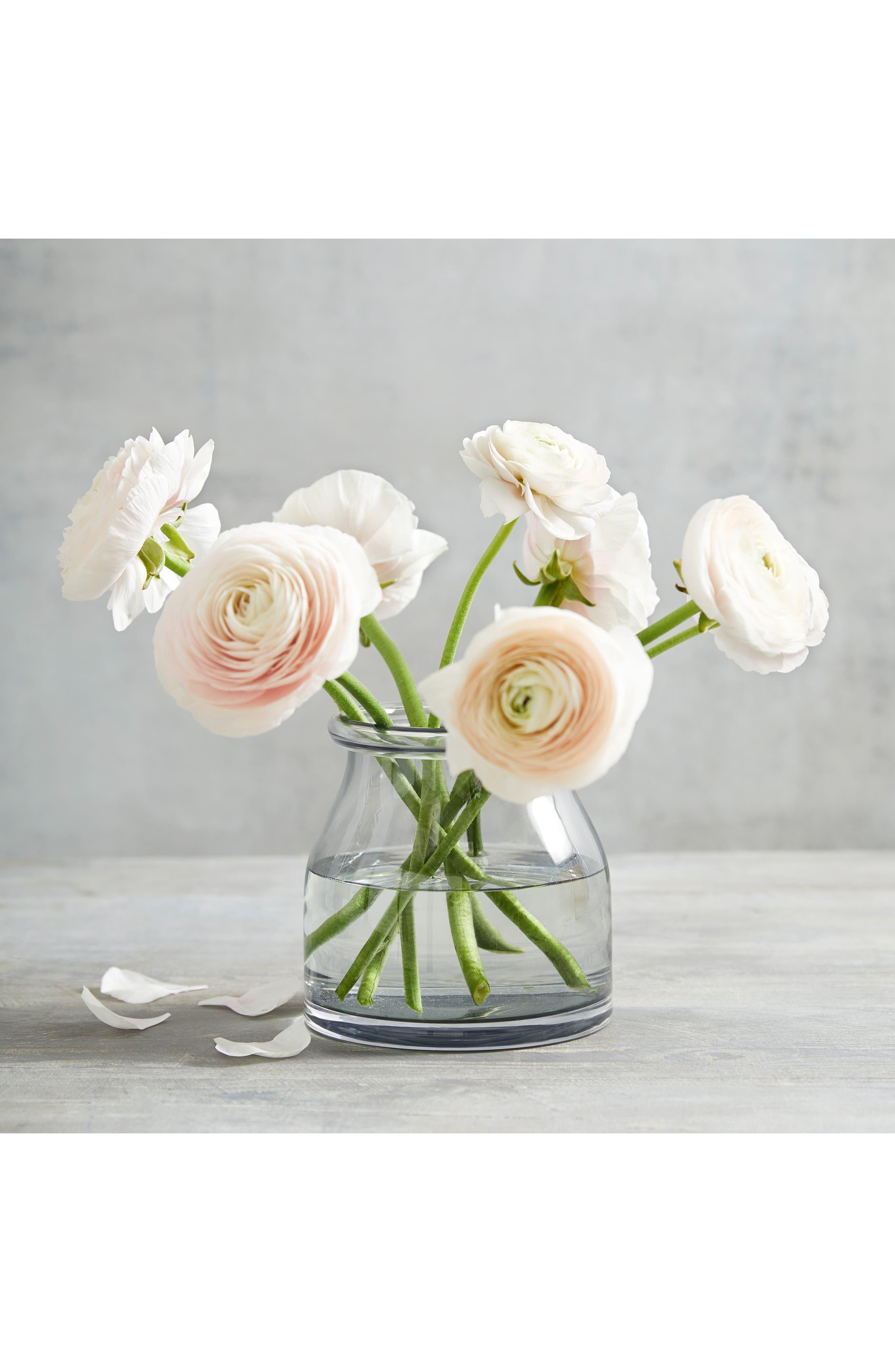 Mini Aurelie Glass Vase by The White Company