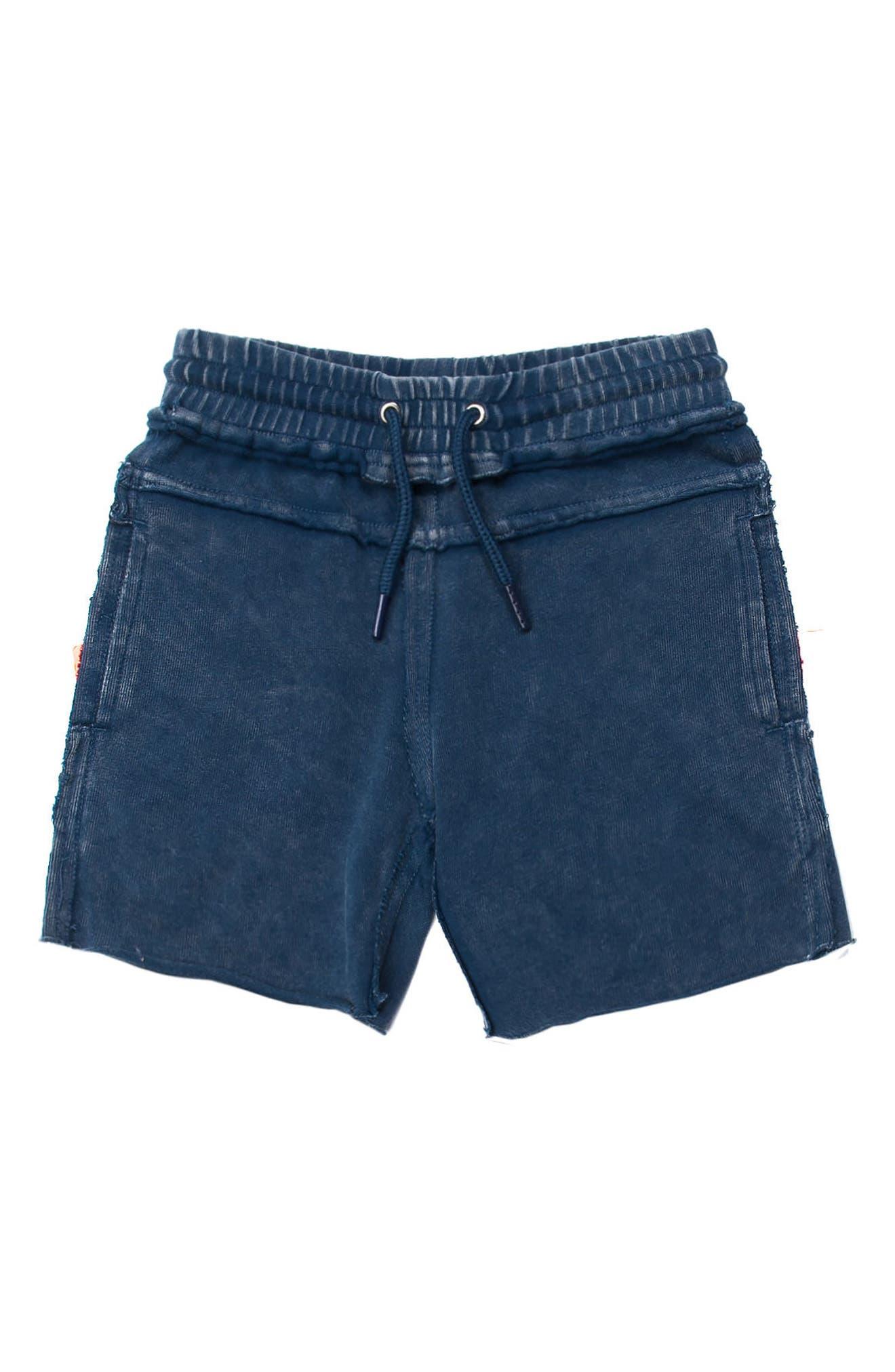 Kirk Knit Shorts,                         Main,                         color, NAVY
