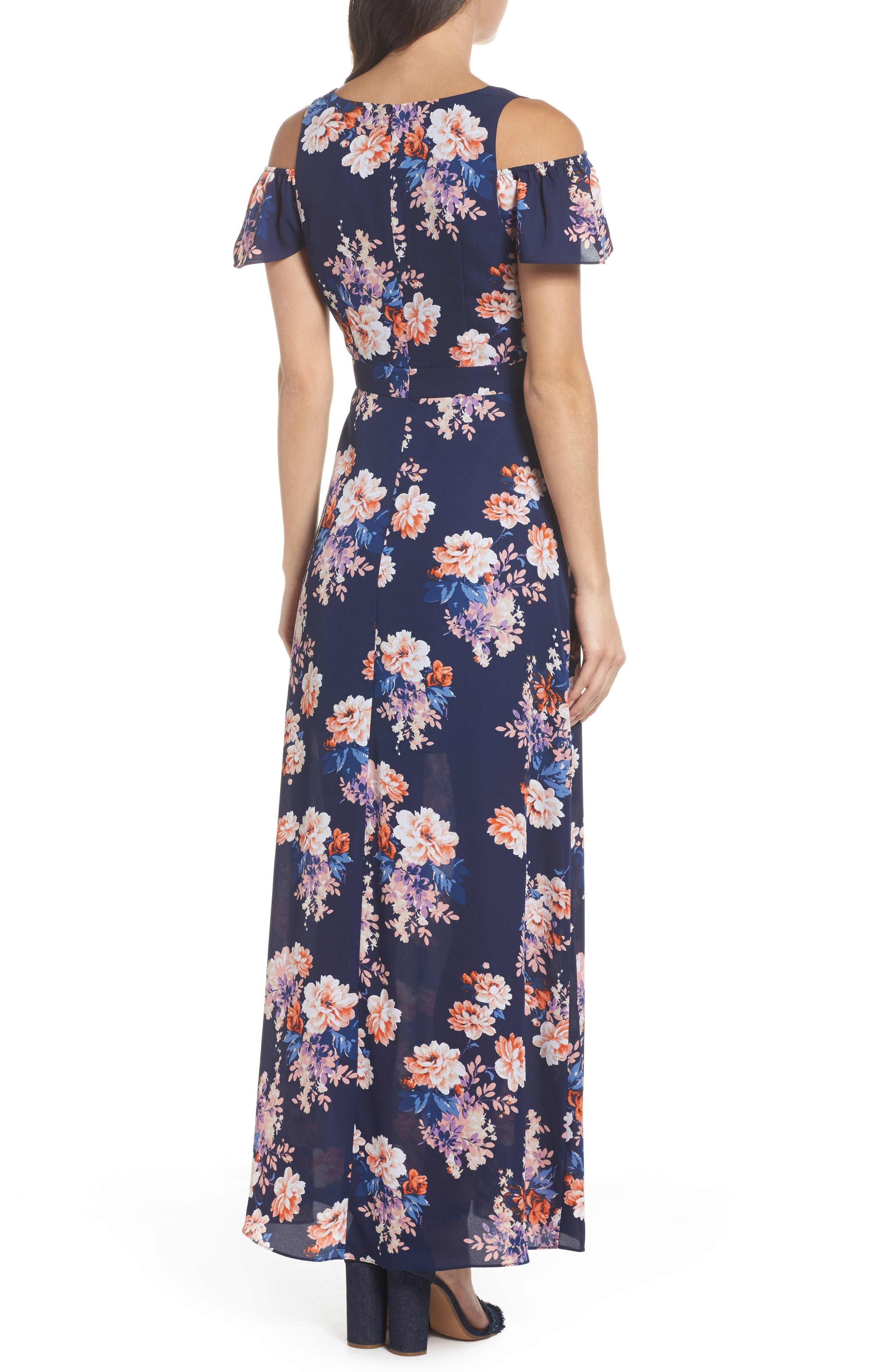 Chasing Butterflies Maxi Dress,                             Alternate thumbnail 2, color,                             400