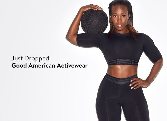 Introducing Good American Activewear.