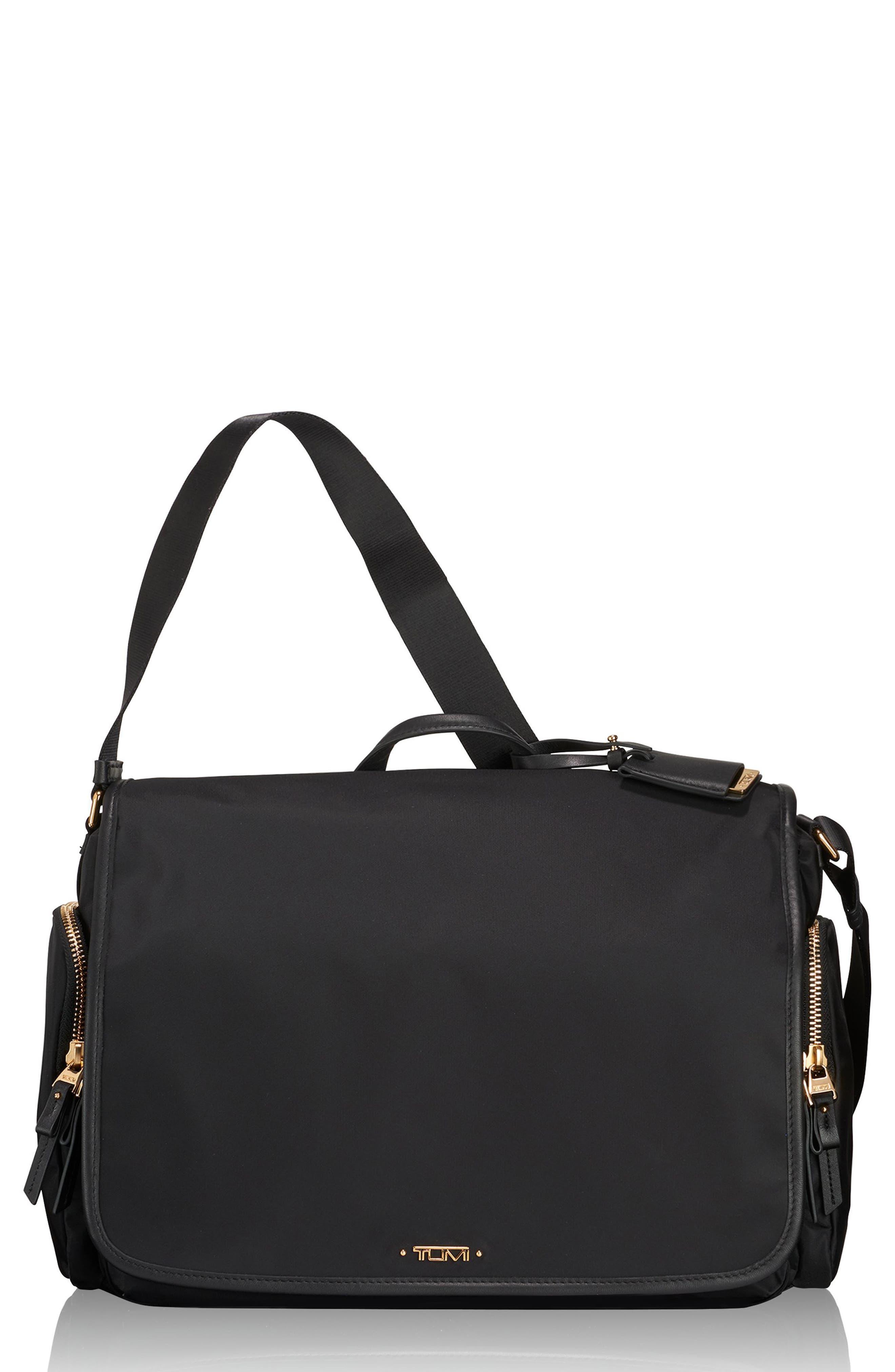 Lola Nylon Crossbody Bag,                             Main thumbnail 1, color,                             001
