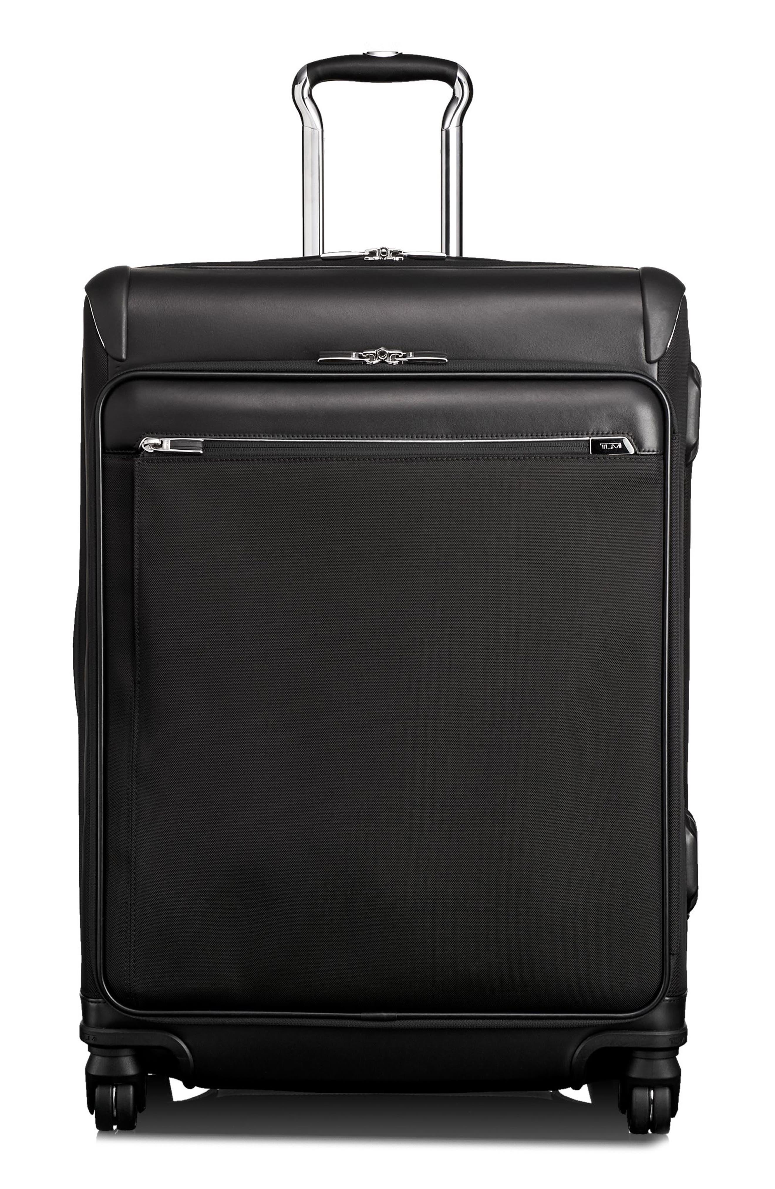 MacArthur 26-Inch Short Trip Expandable Packing Case,                             Main thumbnail 1, color,                             BLACK