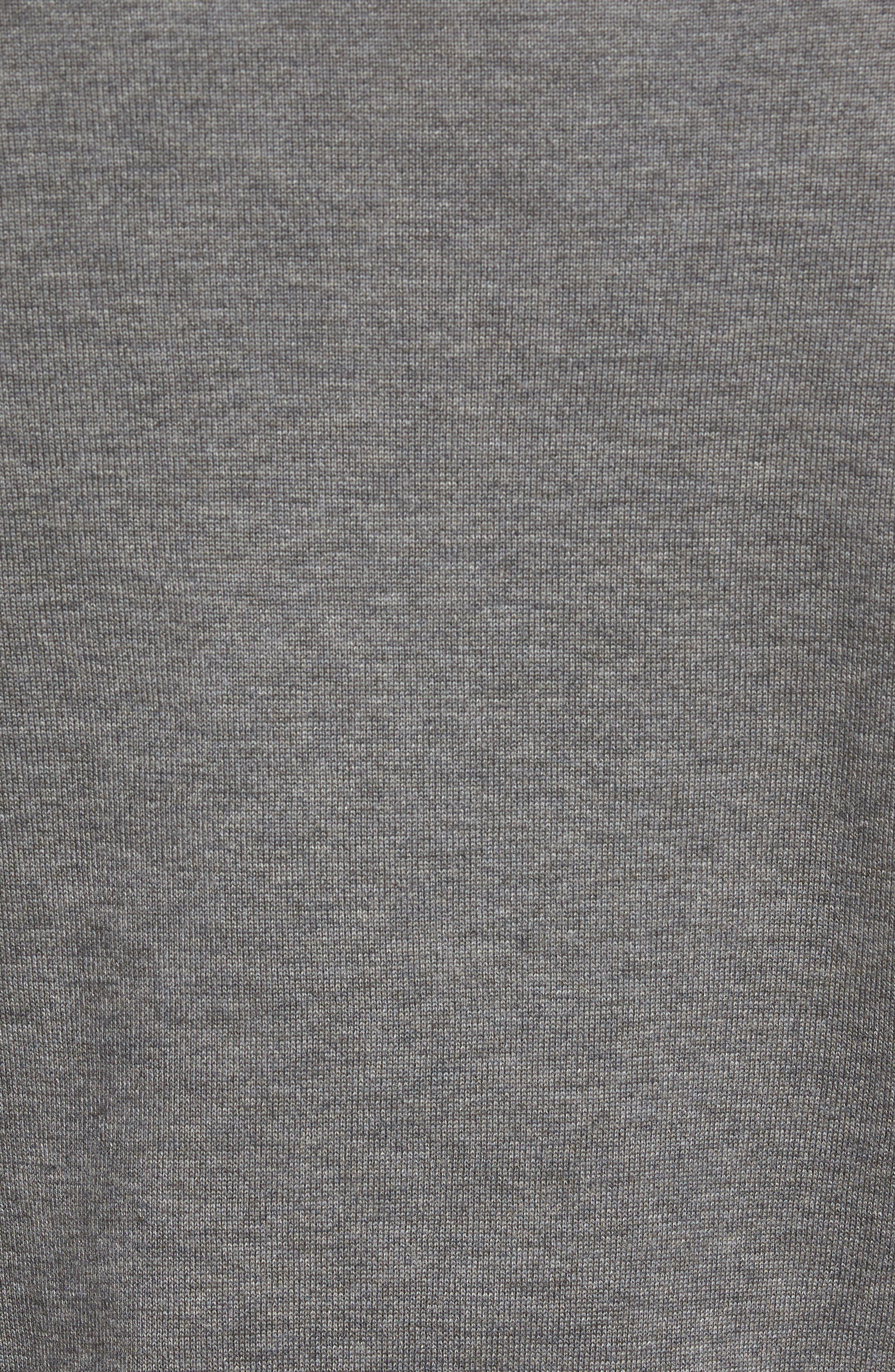 Jersey Knit Crewneck Sweater,                             Alternate thumbnail 5, color,                             032
