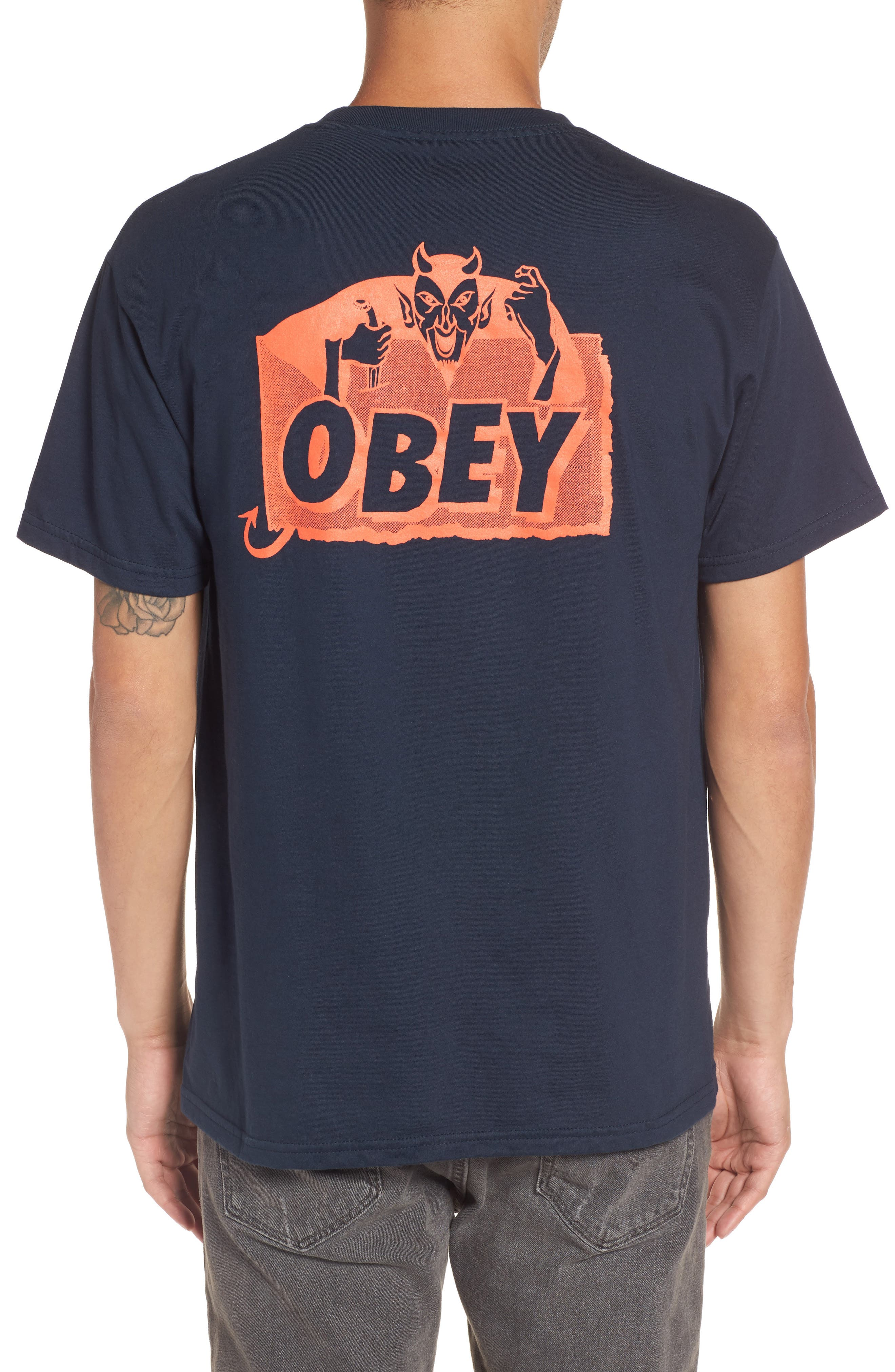 Devil Graphic T-Shirt,                             Alternate thumbnail 2, color,                             412