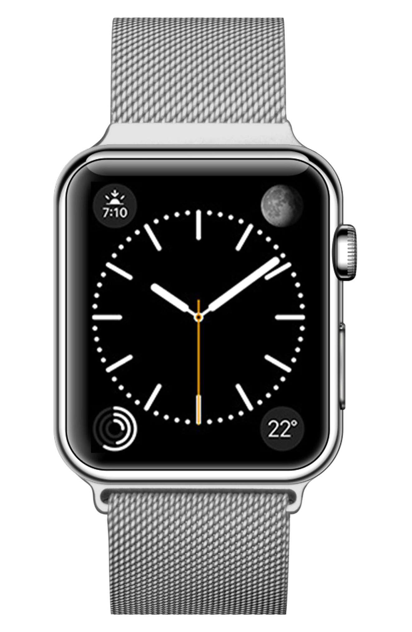 Mesh Apple Watch Strap, 38mm,                             Alternate thumbnail 11, color,