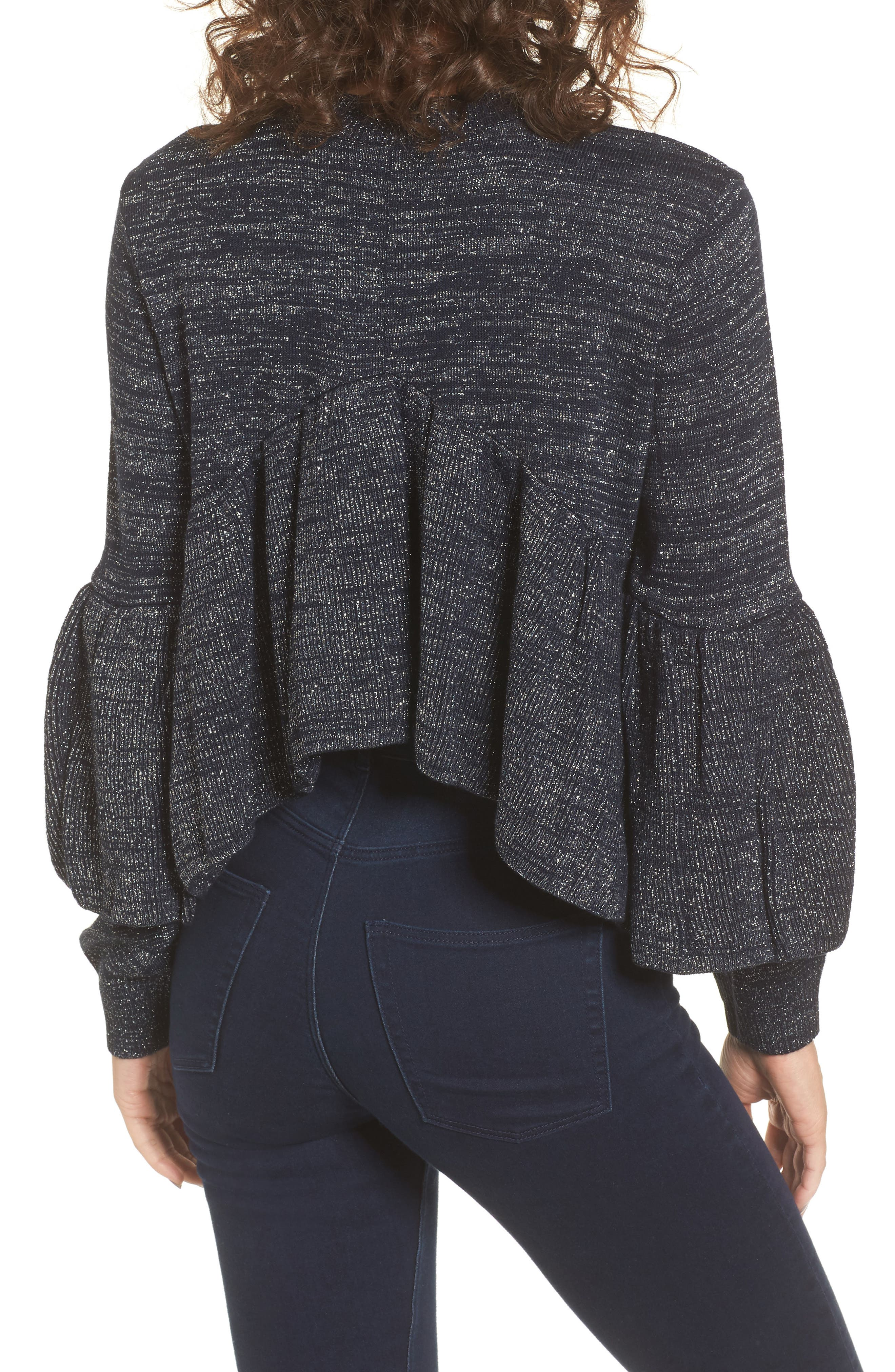 Ruffle Sweater,                             Alternate thumbnail 2, color,                             400