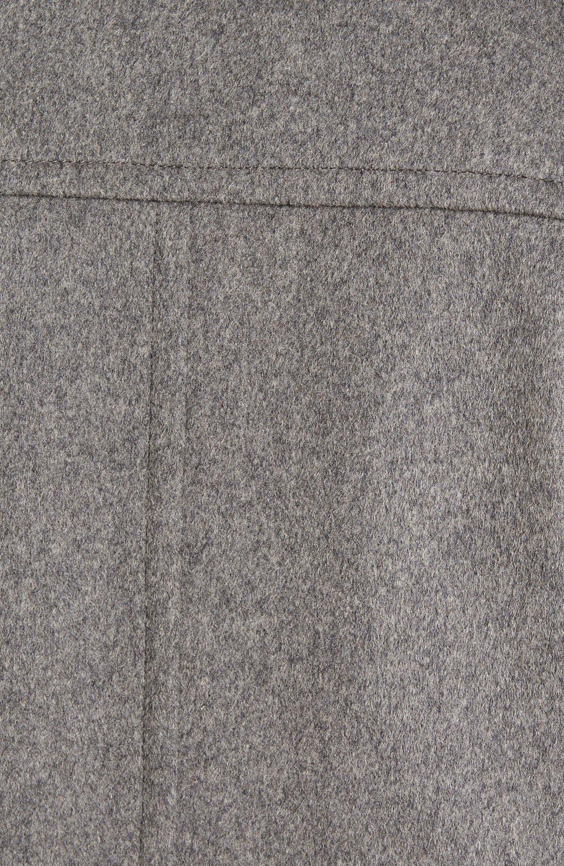 Douglas Modern Fit Wool & Cashmere Overcoat,                             Alternate thumbnail 14, color,