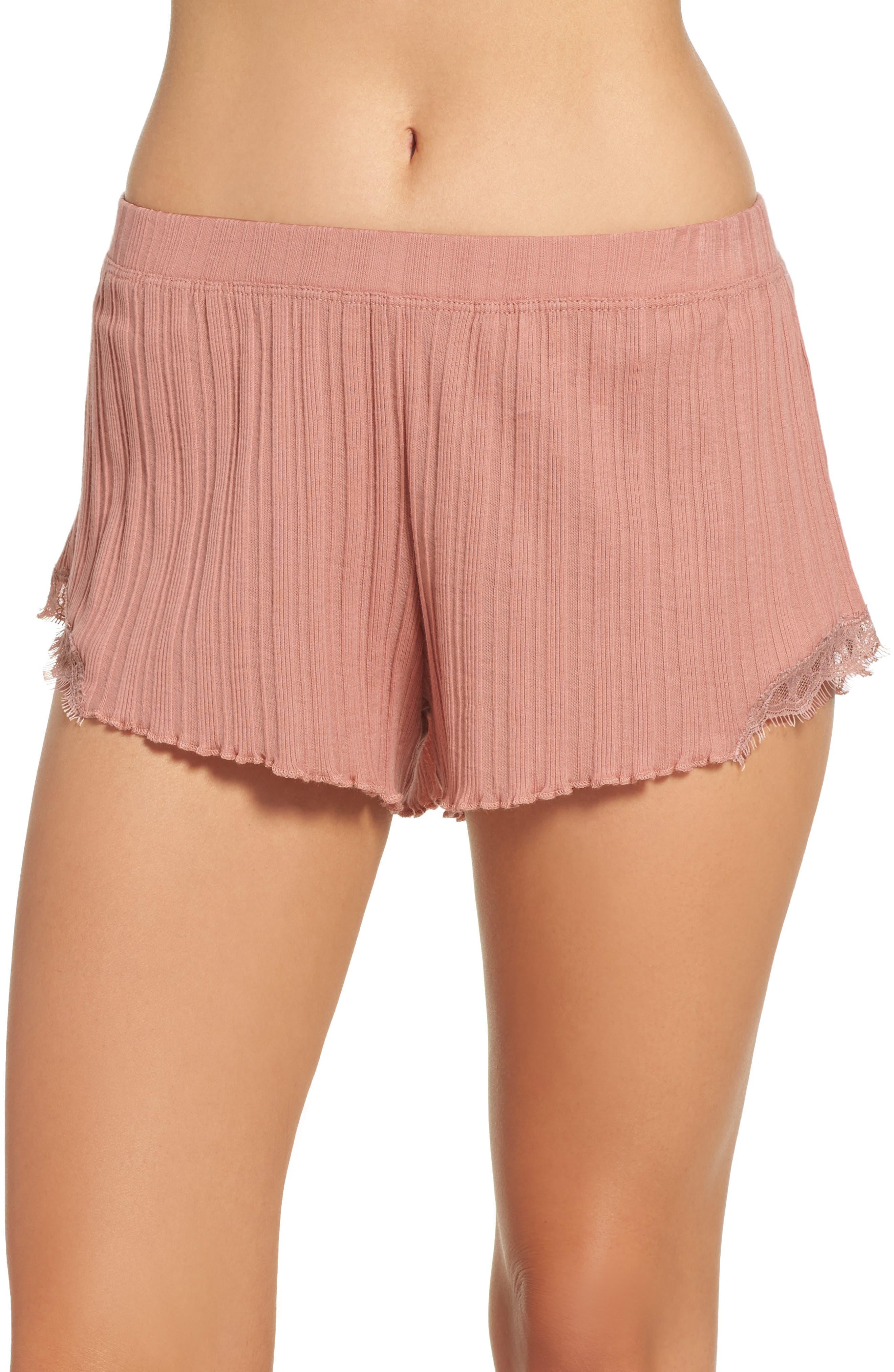 Ribbed Shorts,                         Main,                         color, 666