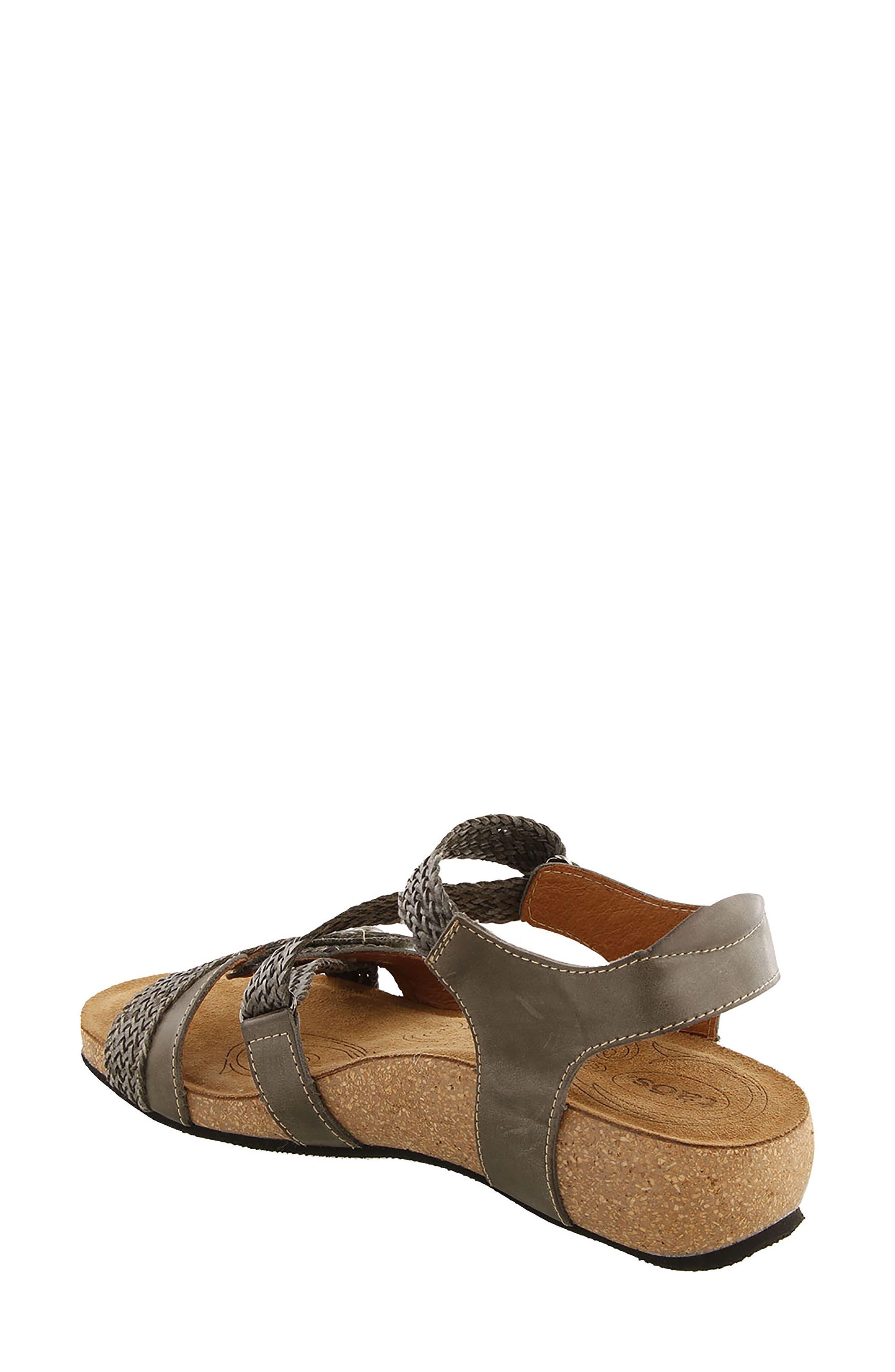 TAOS,                             'Trulie' Wedge Sandal,                             Alternate thumbnail 2, color,                             022