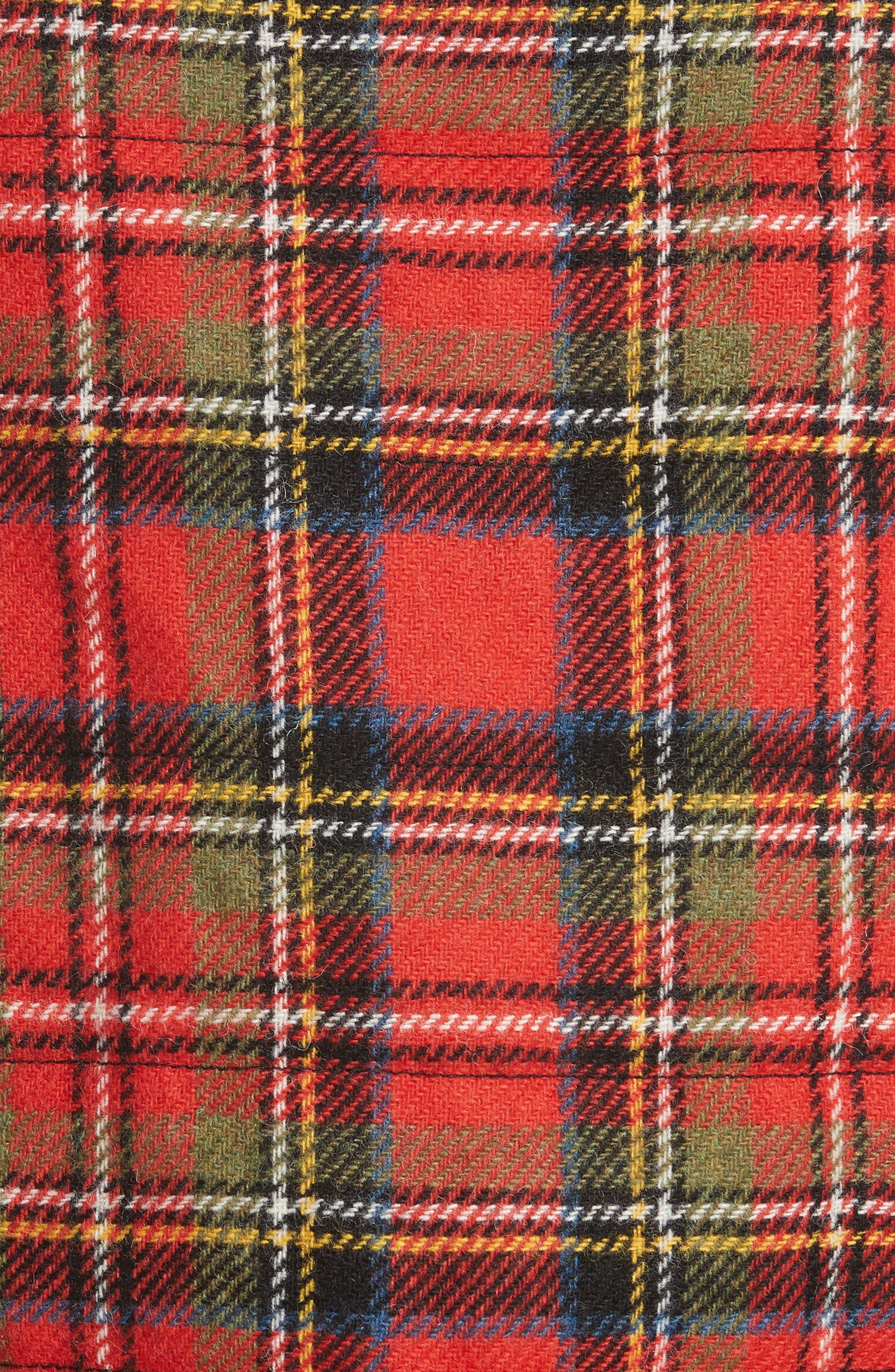 Mixed Tartan Wool Jacket,                             Alternate thumbnail 6, color,                             960