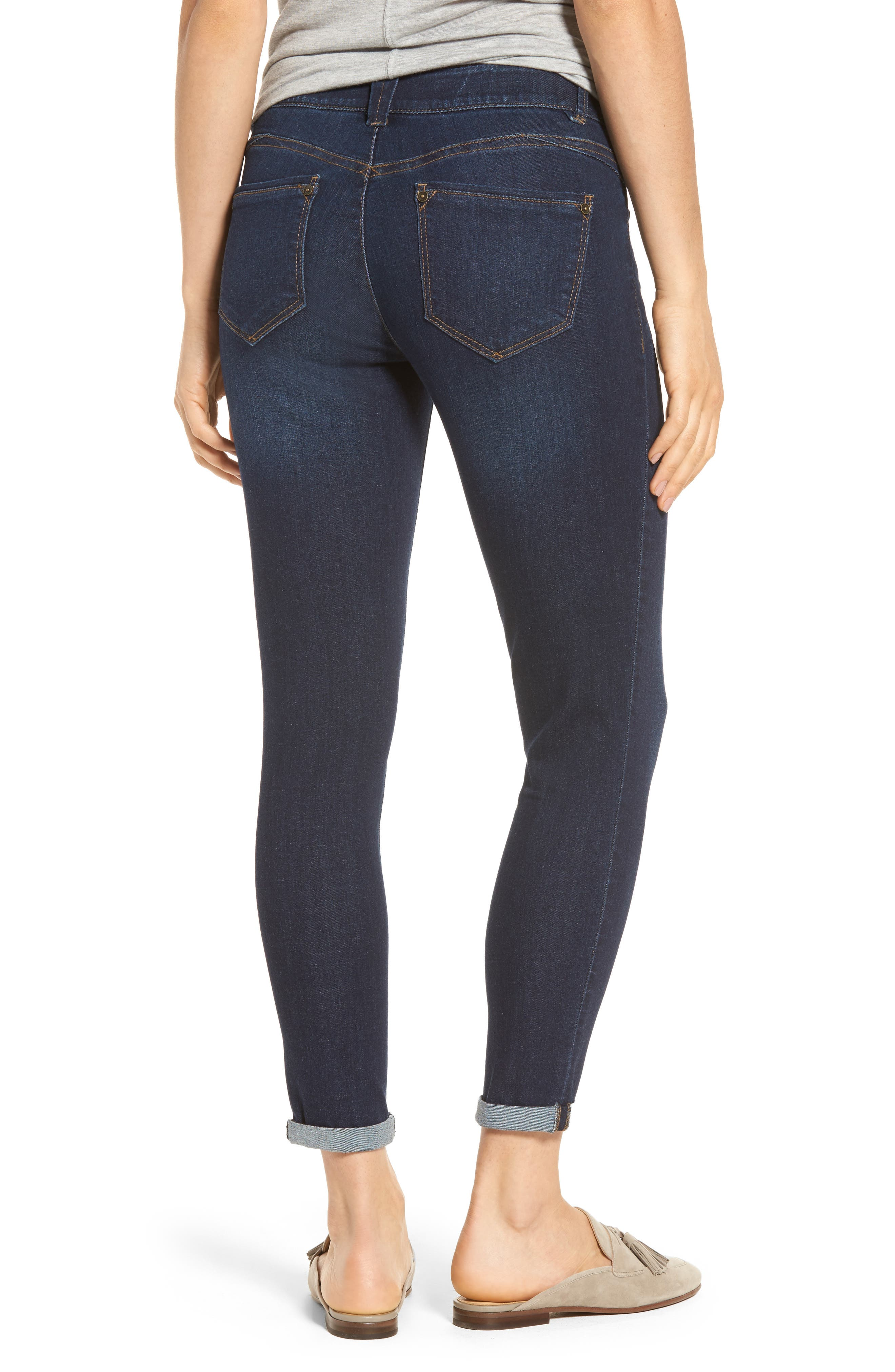 Ab-solution Boyfriend Ankle Jeans,                             Alternate thumbnail 2, color,                             402