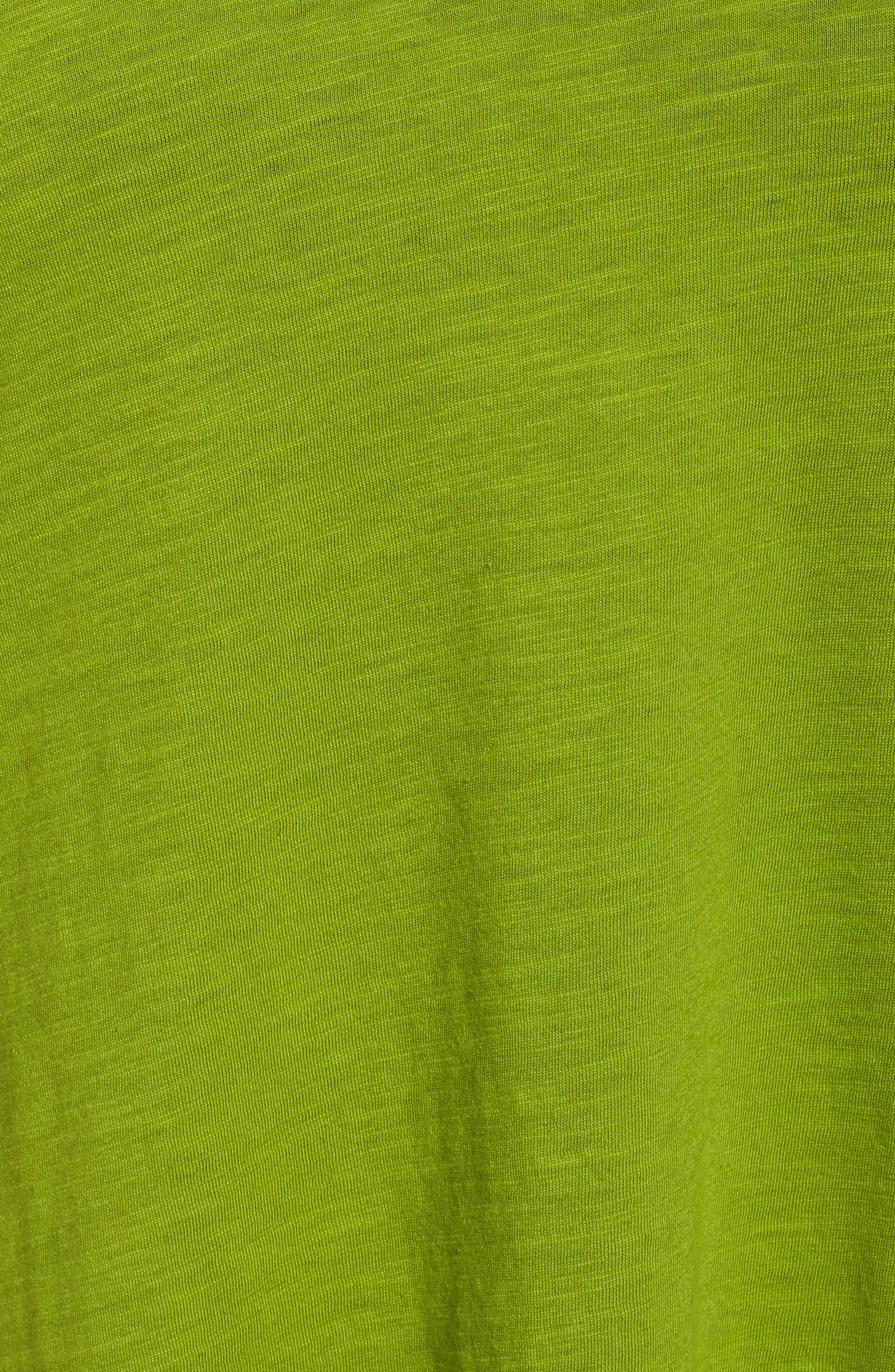 Organic Cotton V-Neck Top,                             Alternate thumbnail 31, color,