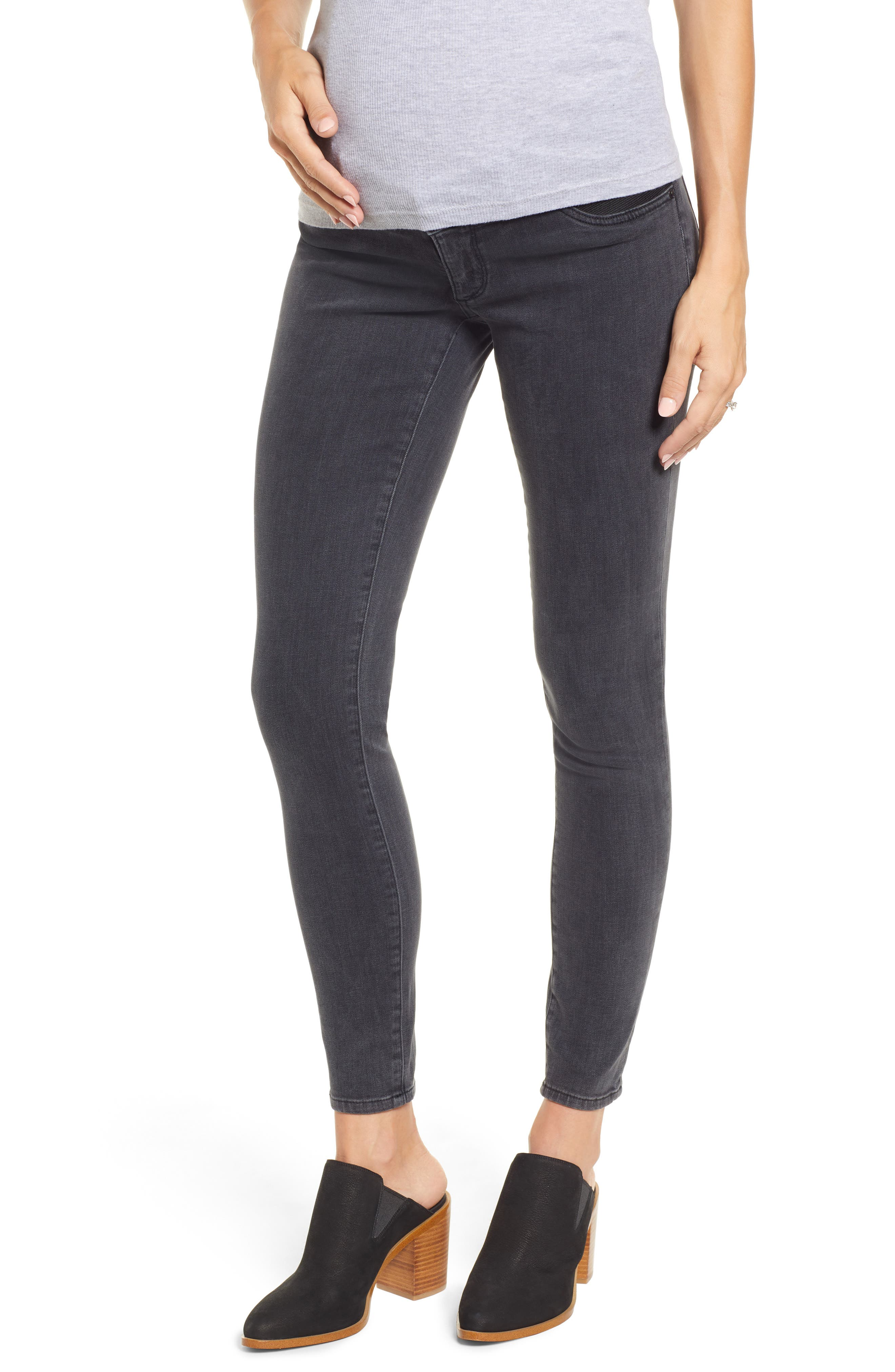 Florence Maternity Skinny Jeans,                         Main,                         color, FRISCO