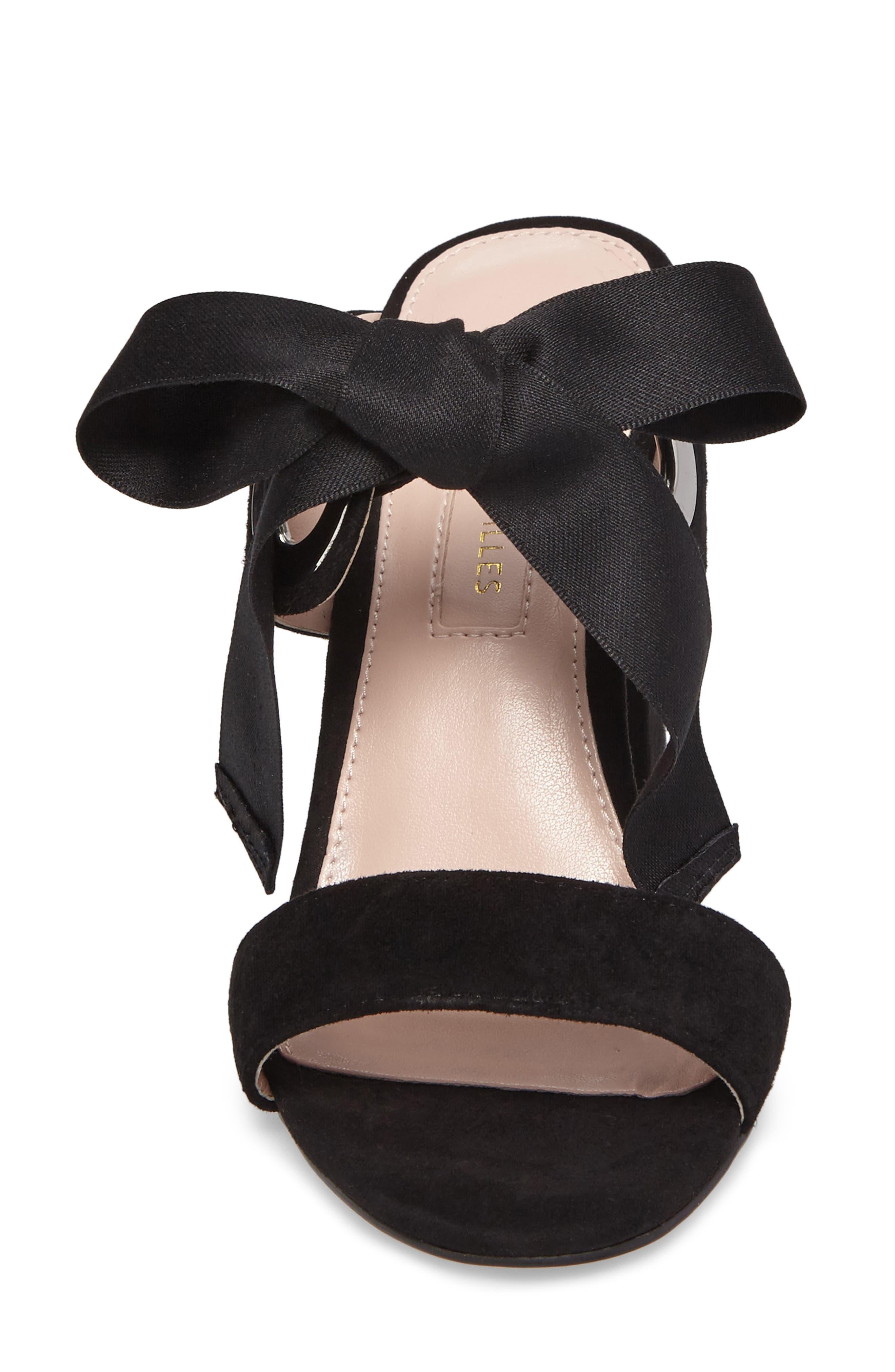 Megan Tie Strap Sandal,                             Alternate thumbnail 7, color,