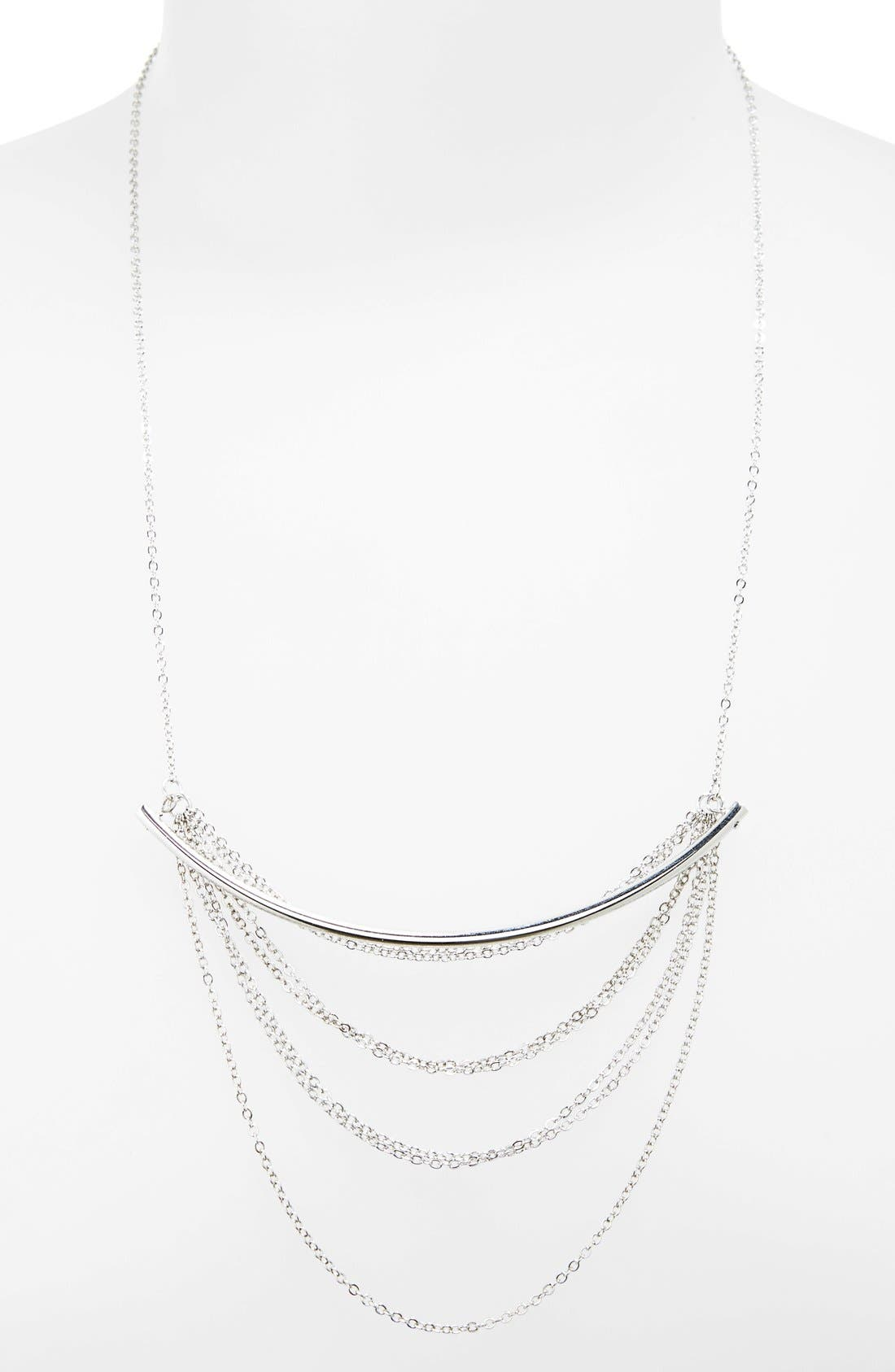 Bar Necklace,                         Main,                         color, 040