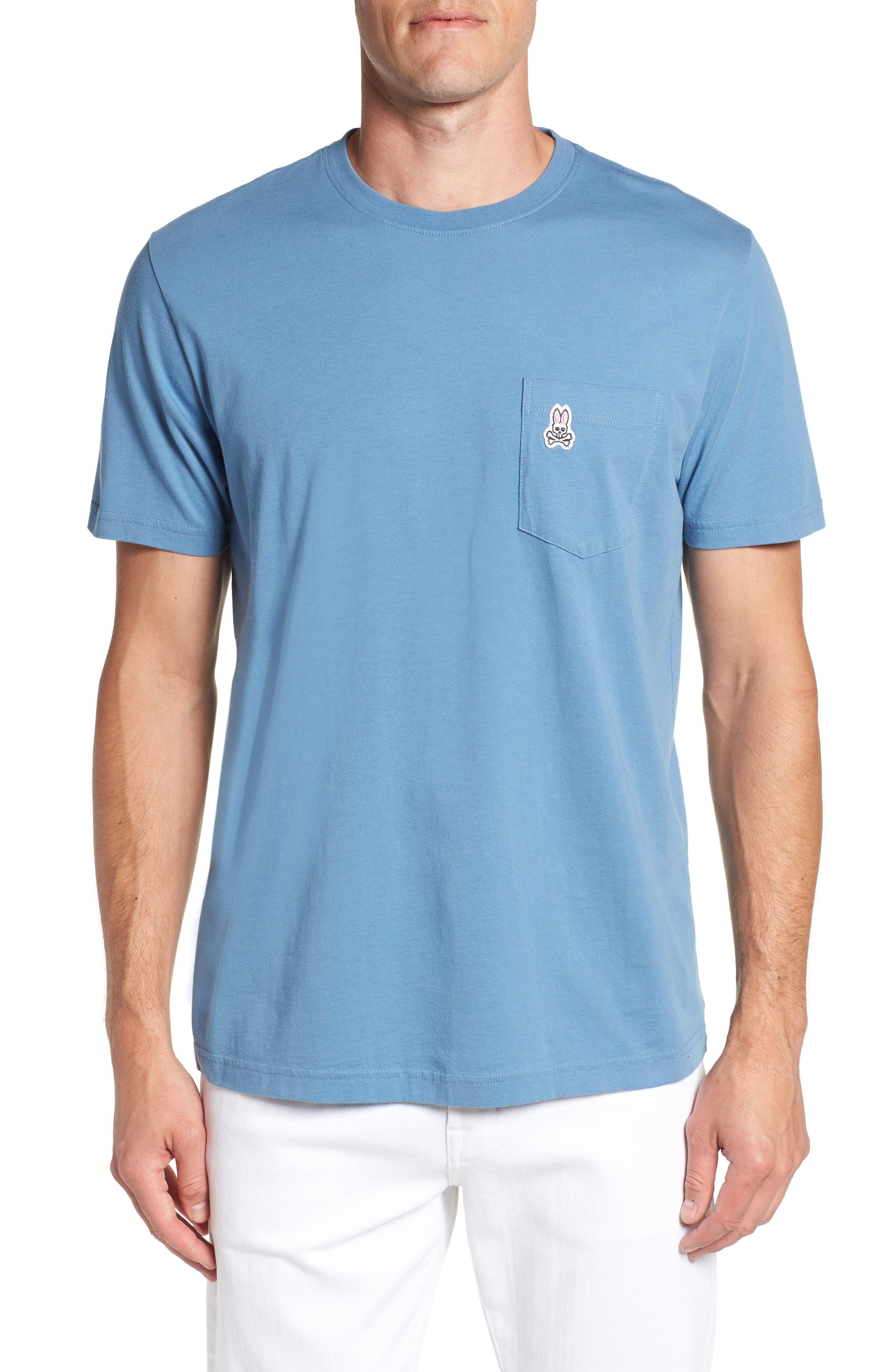 Appliqué Pocket T-Shirt,                         Main,                         color, 476