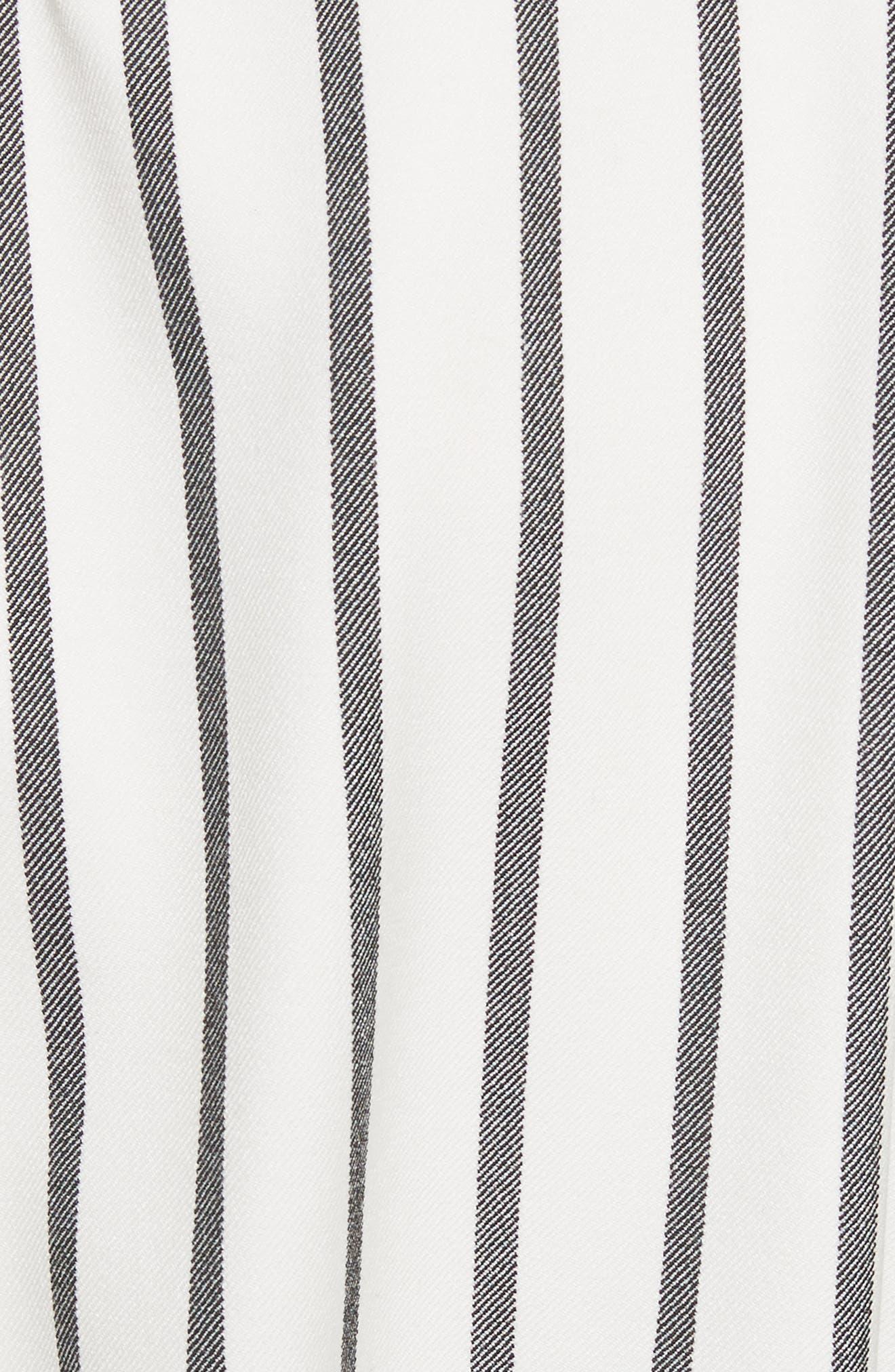 Lucci Stripe Sculpted Top,                             Alternate thumbnail 5, color,