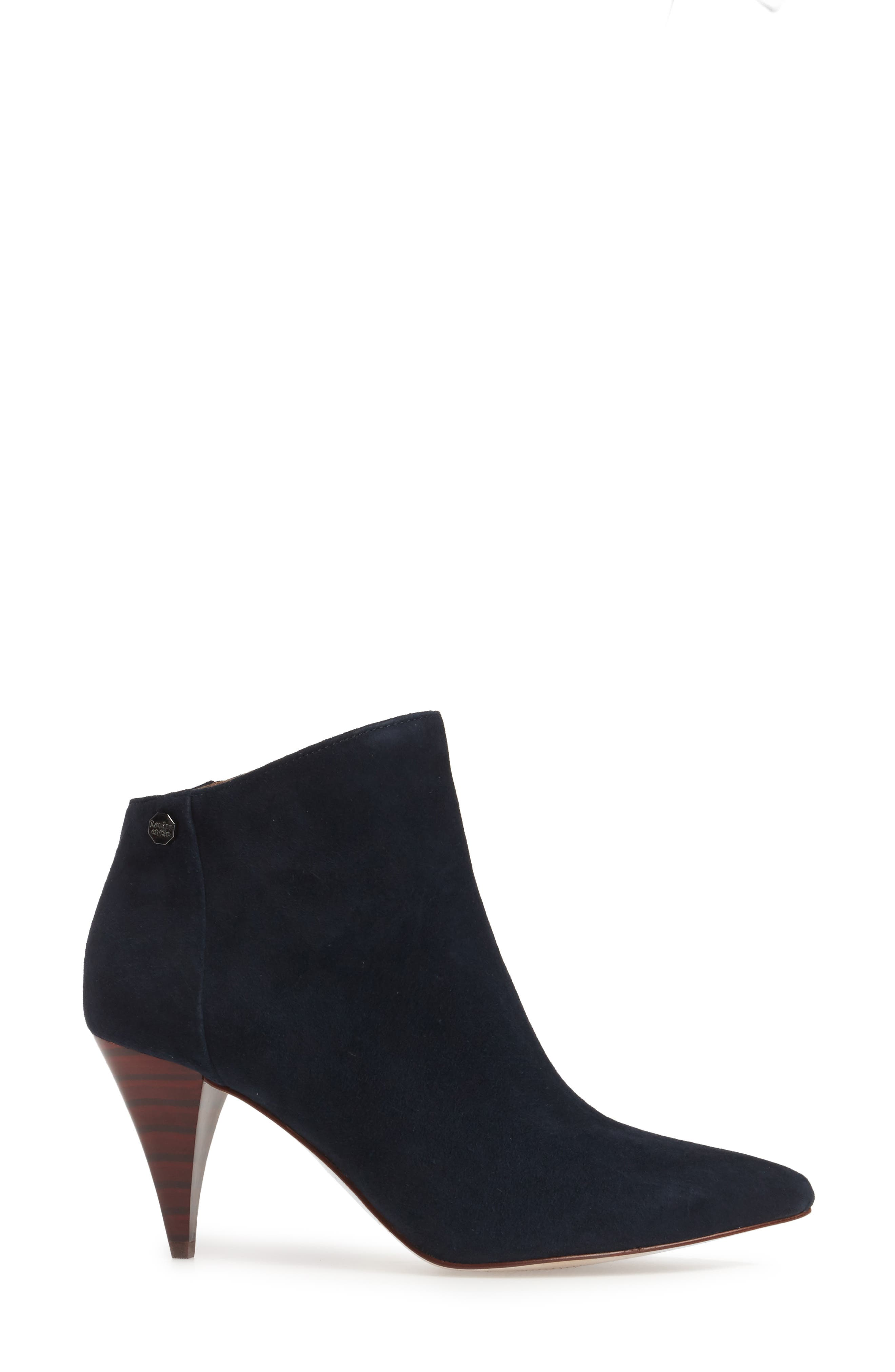 Warley Pointy Toe Bootie,                             Alternate thumbnail 9, color,