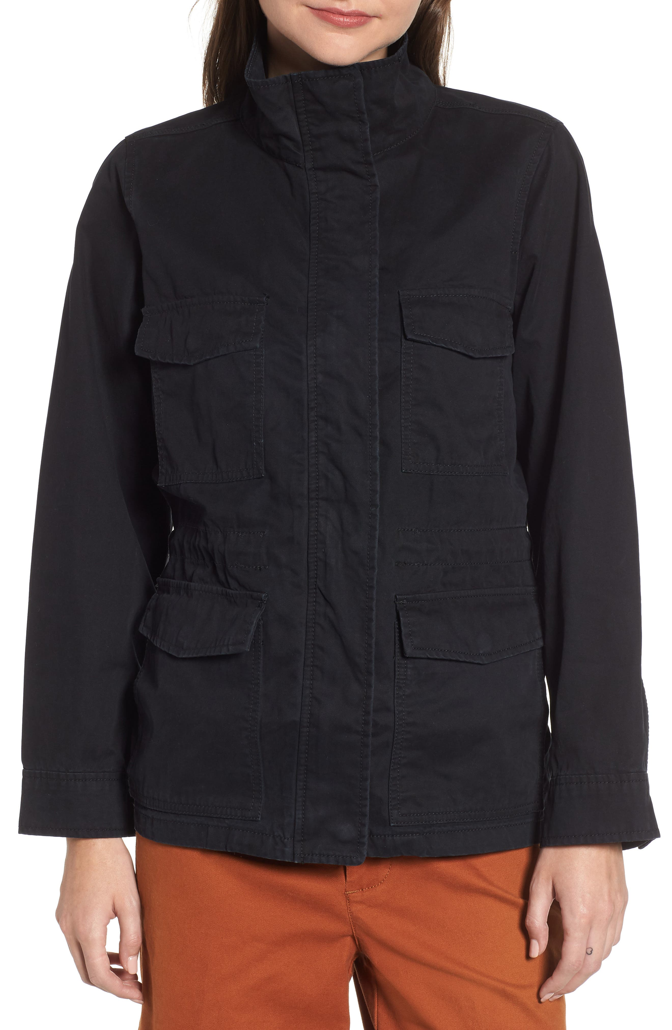 Surplus Jacket,                             Alternate thumbnail 4, color,                             TRUE BLACK