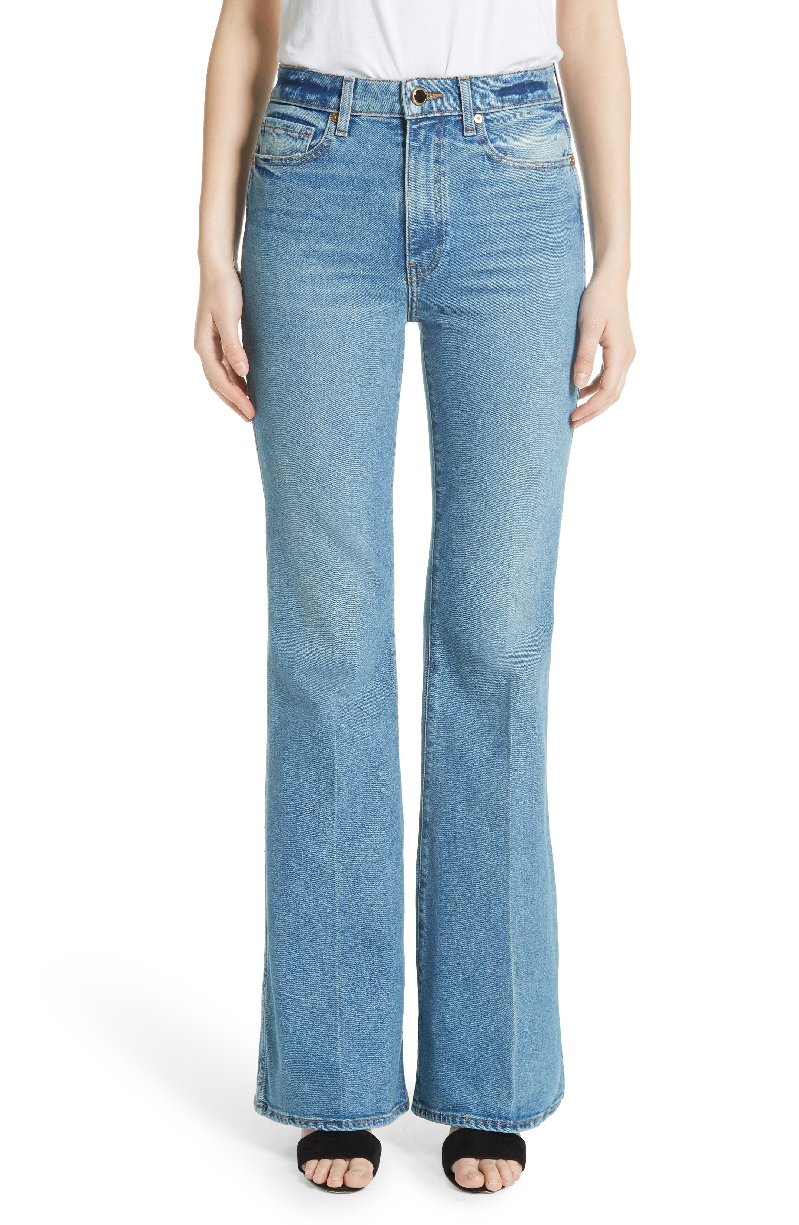 Reece Flare Jeans,                             Main thumbnail 1, color,                             401