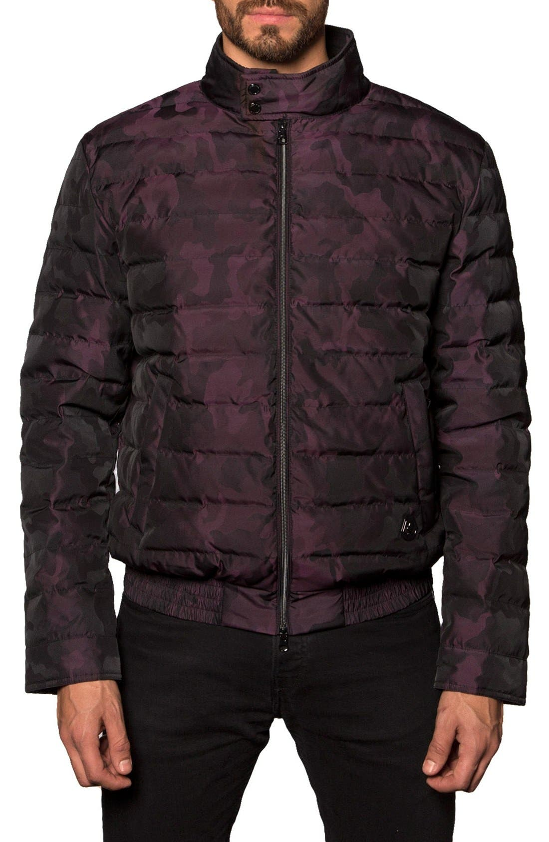 Chicago Camo Down Puffer Jacket,                             Main thumbnail 2, color,