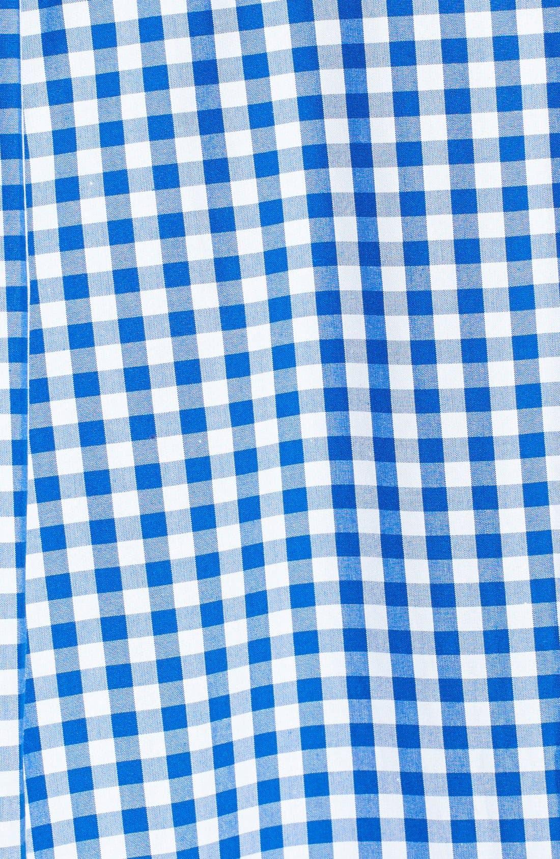 'Cooper' Classic Fit Gingham Sport Shirt,                             Alternate thumbnail 3, color,                             438