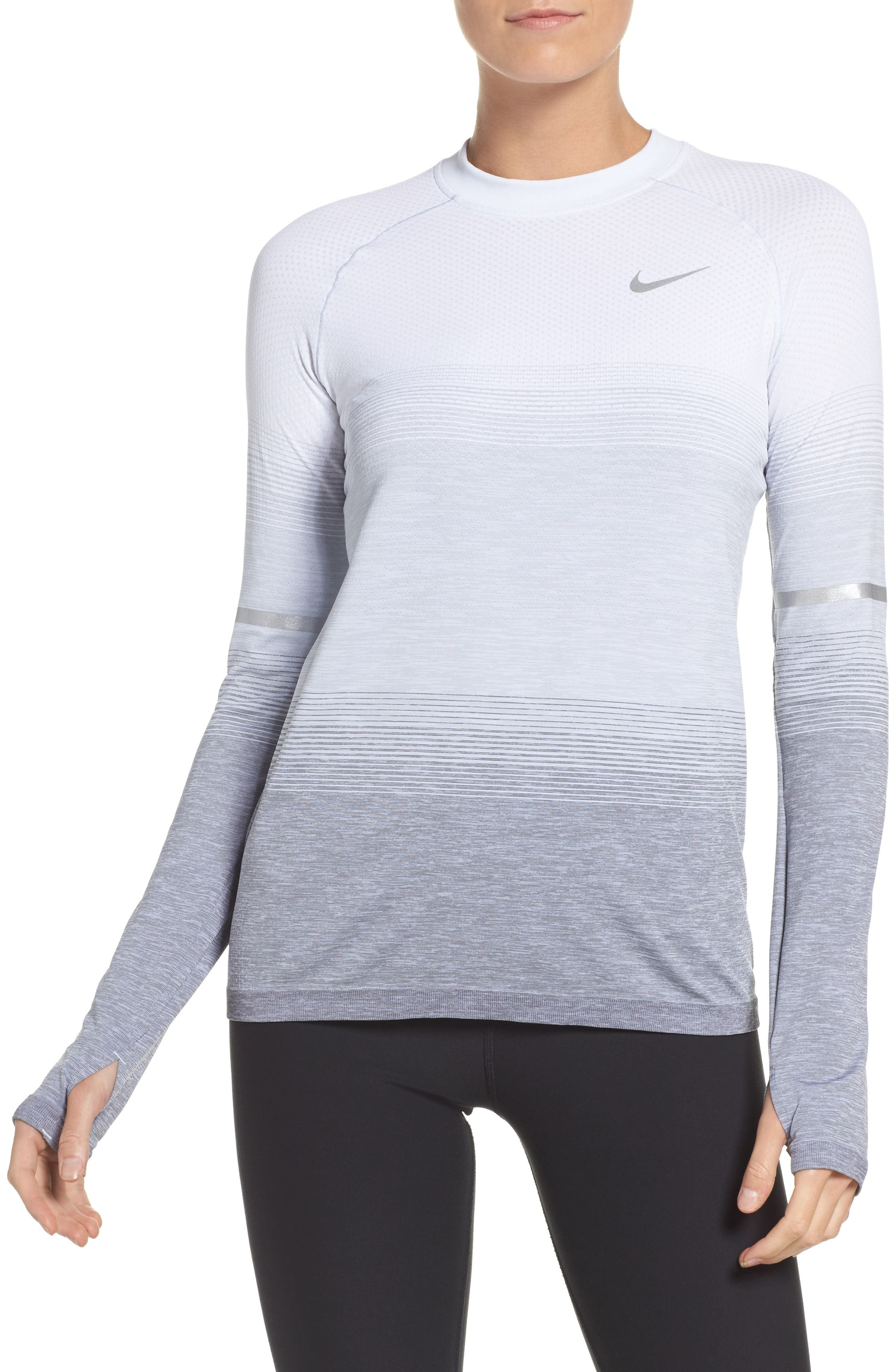 Breathe Running Top,                         Main,                         color, 050