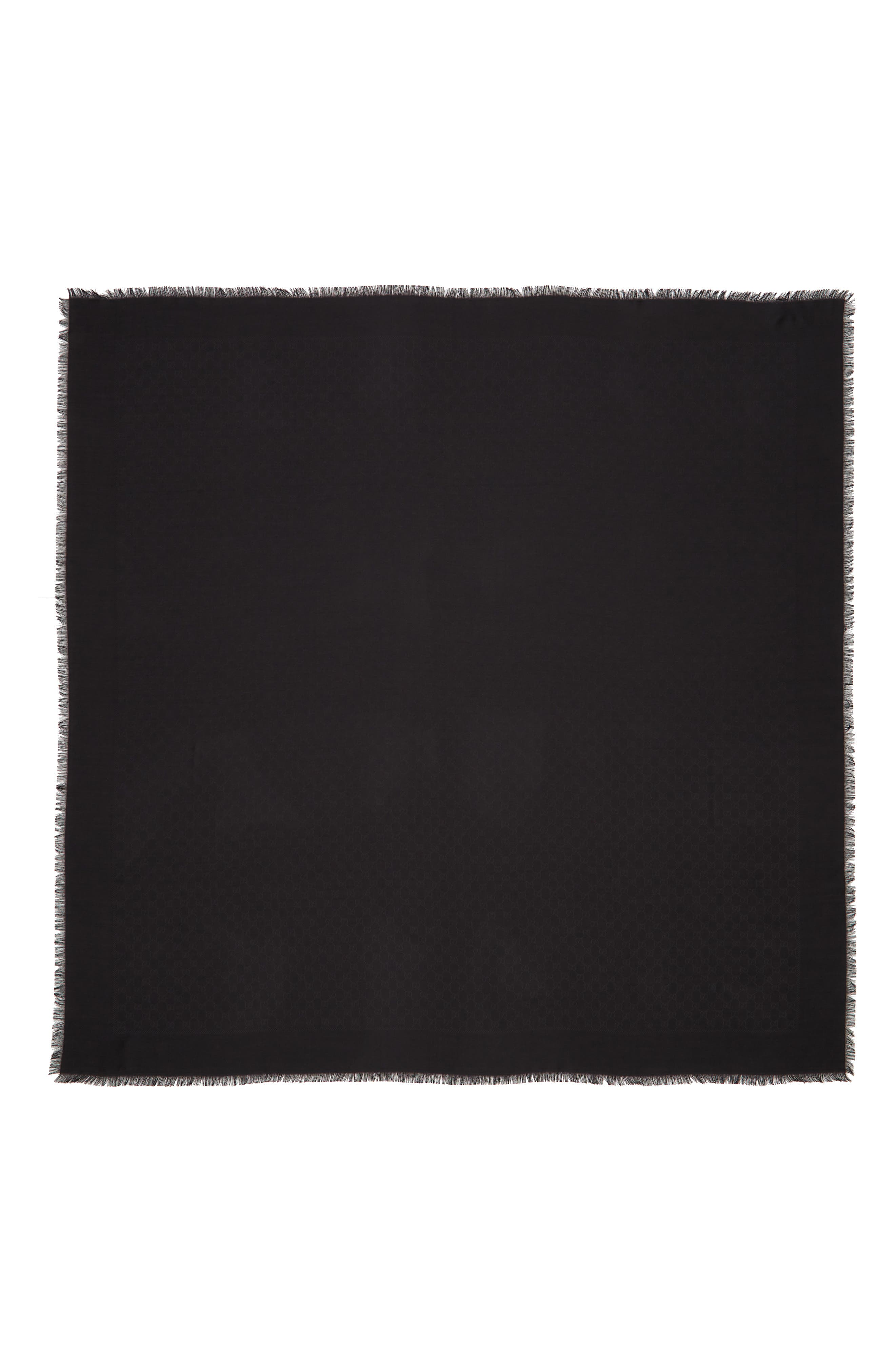 Ataria Jacquard Shawl,                             Main thumbnail 1, color,                             BLACK