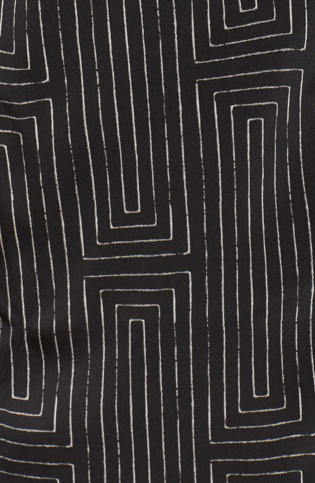 Washed Satin Sleep Shirt,                             Alternate thumbnail 5, color,                             018