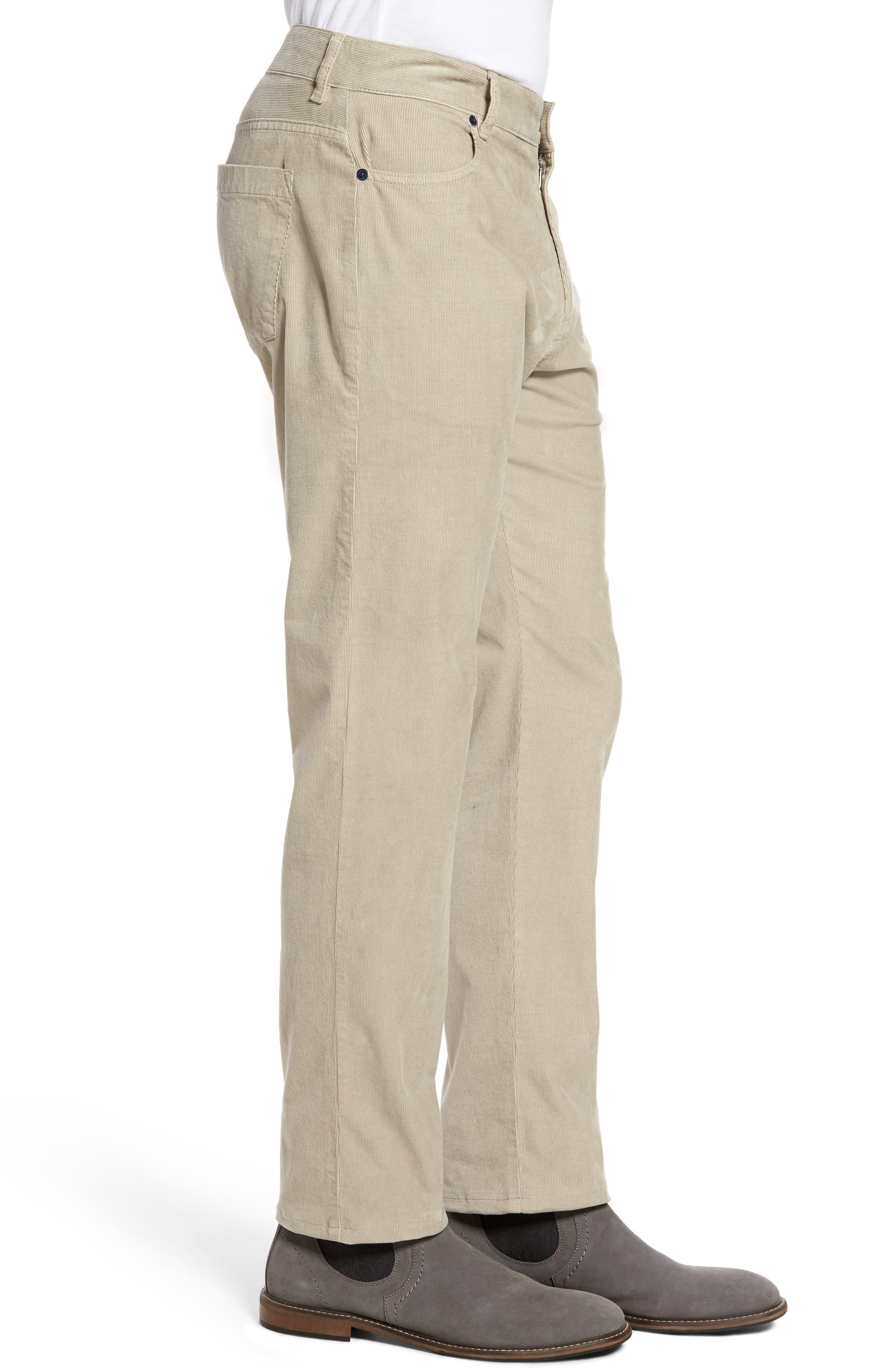 Redonda Stretch Corduroy Trousers,                             Alternate thumbnail 3, color,                             252