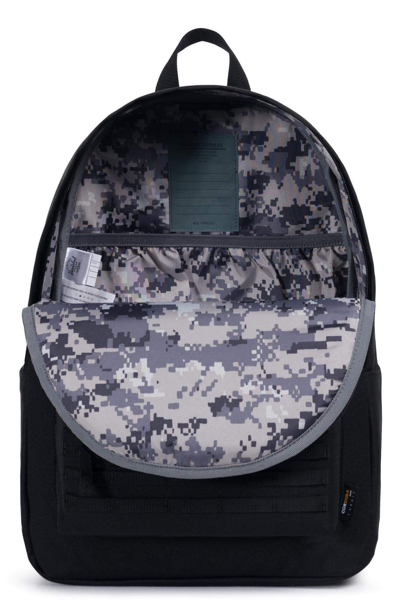 Surplus Classic XL Backpack,                             Alternate thumbnail 4, color,                             BLACK