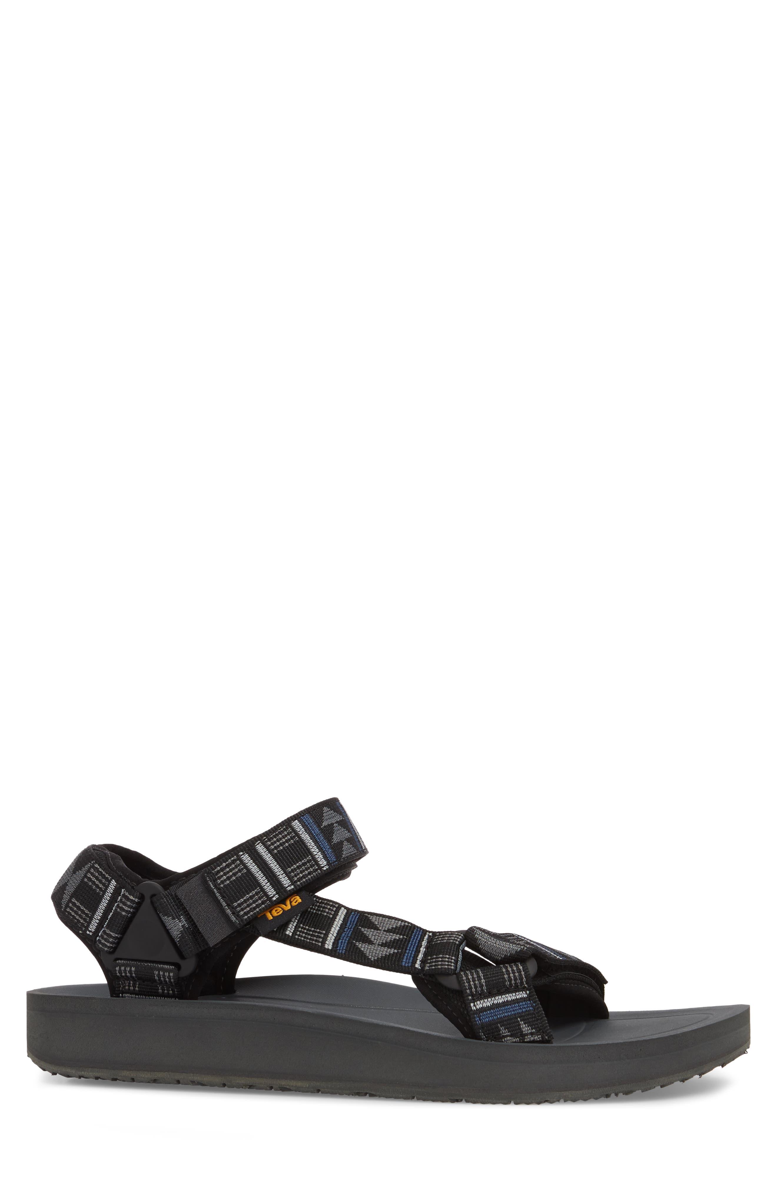 Original Universal Premier Sandal,                             Alternate thumbnail 3, color,                             GREY NYLON