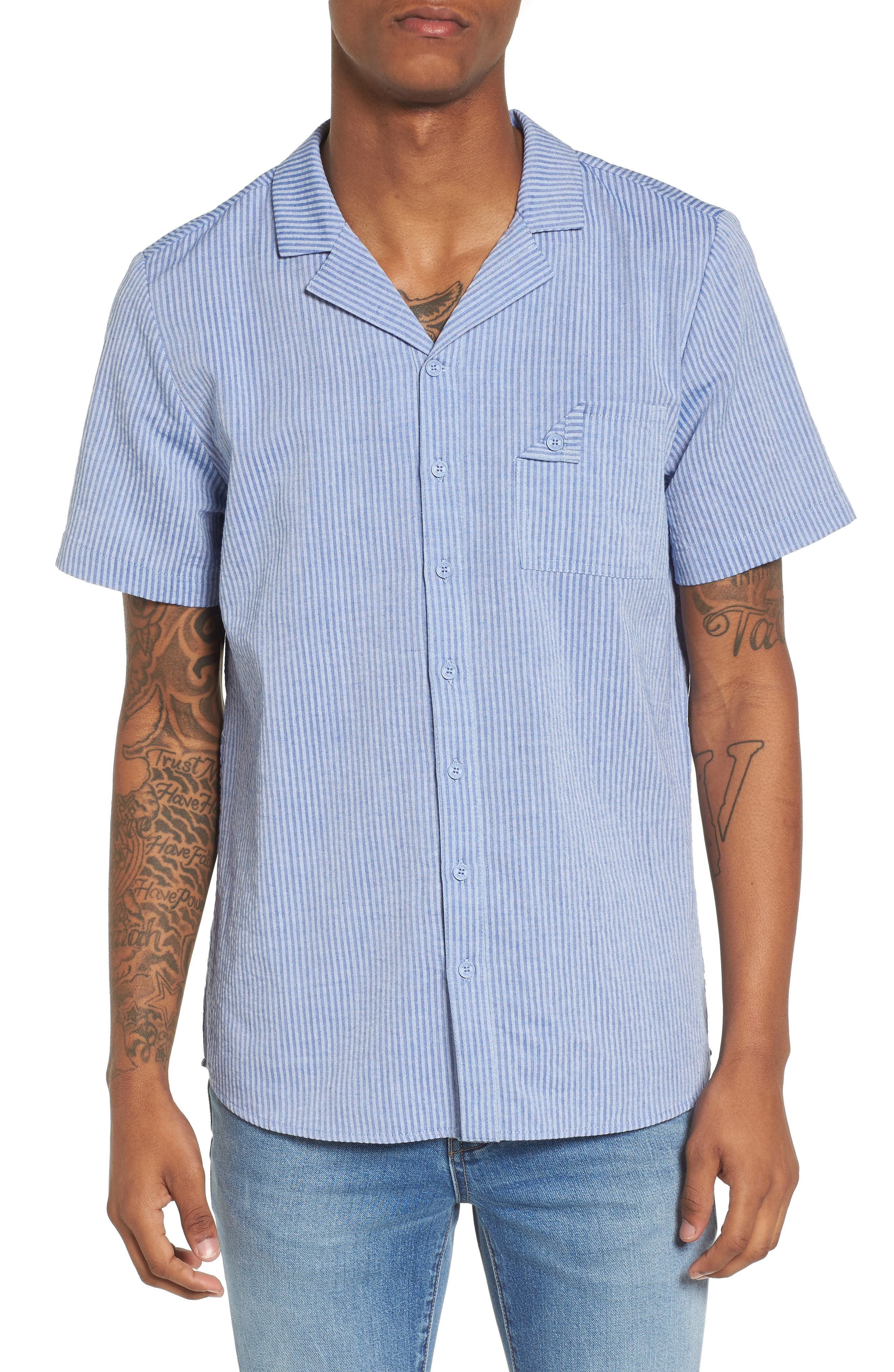 Epiphytes Woven Shirt,                         Main,                         color, 400