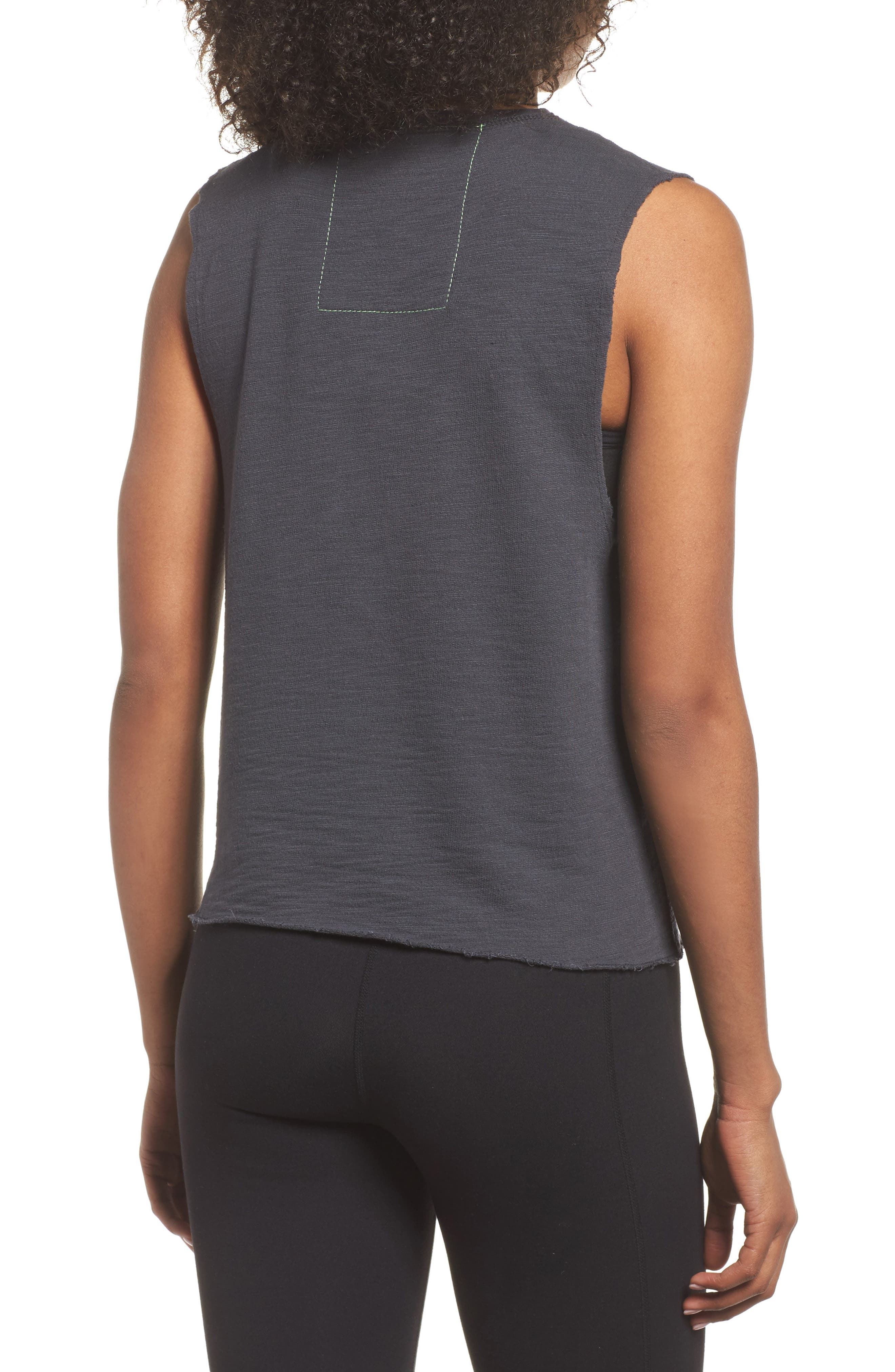 Smiley Muscle Tee,                             Alternate thumbnail 2, color,                             020