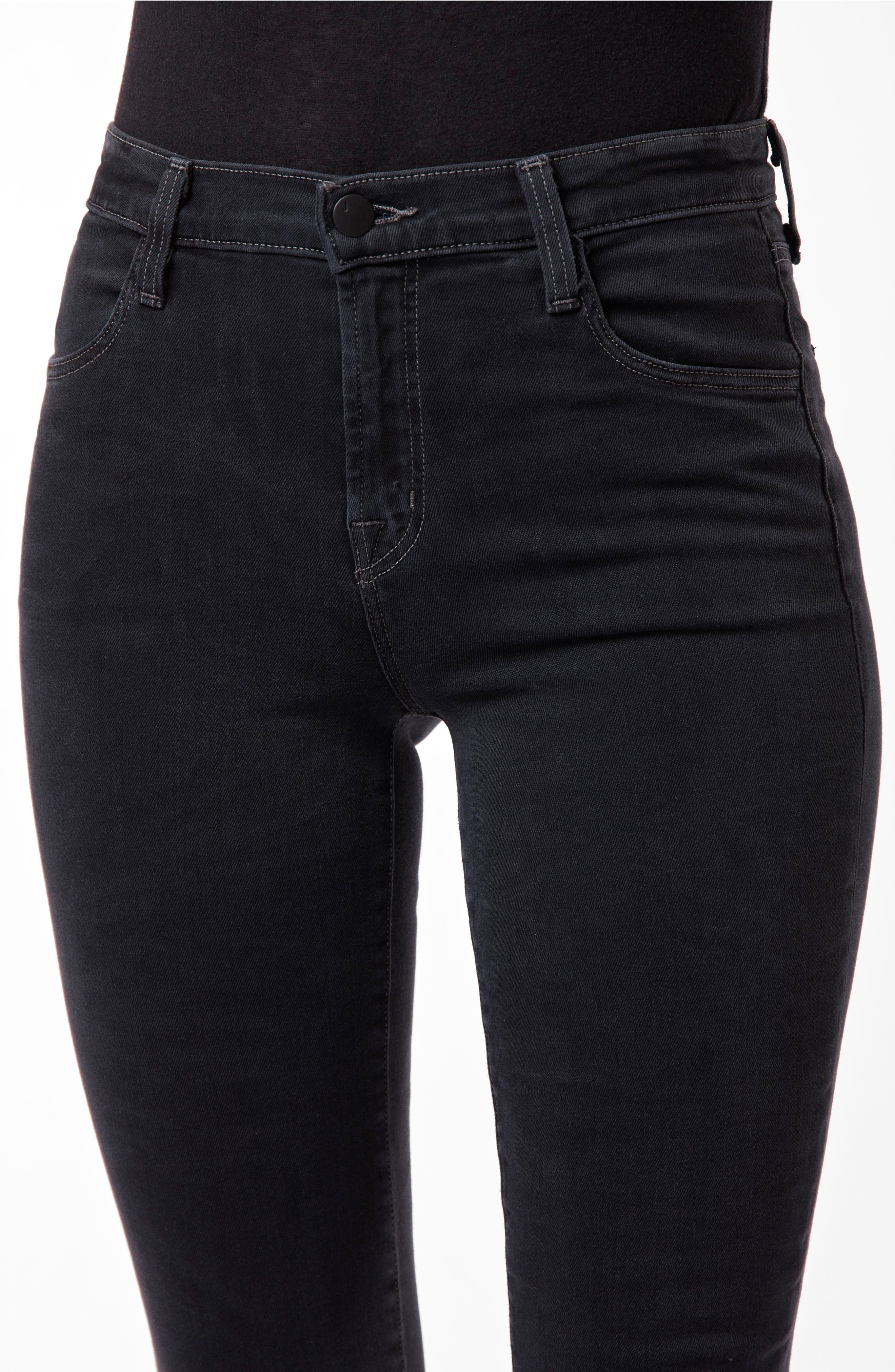 Maria High Waist Skinny Jeans,                             Alternate thumbnail 5, color,                             002