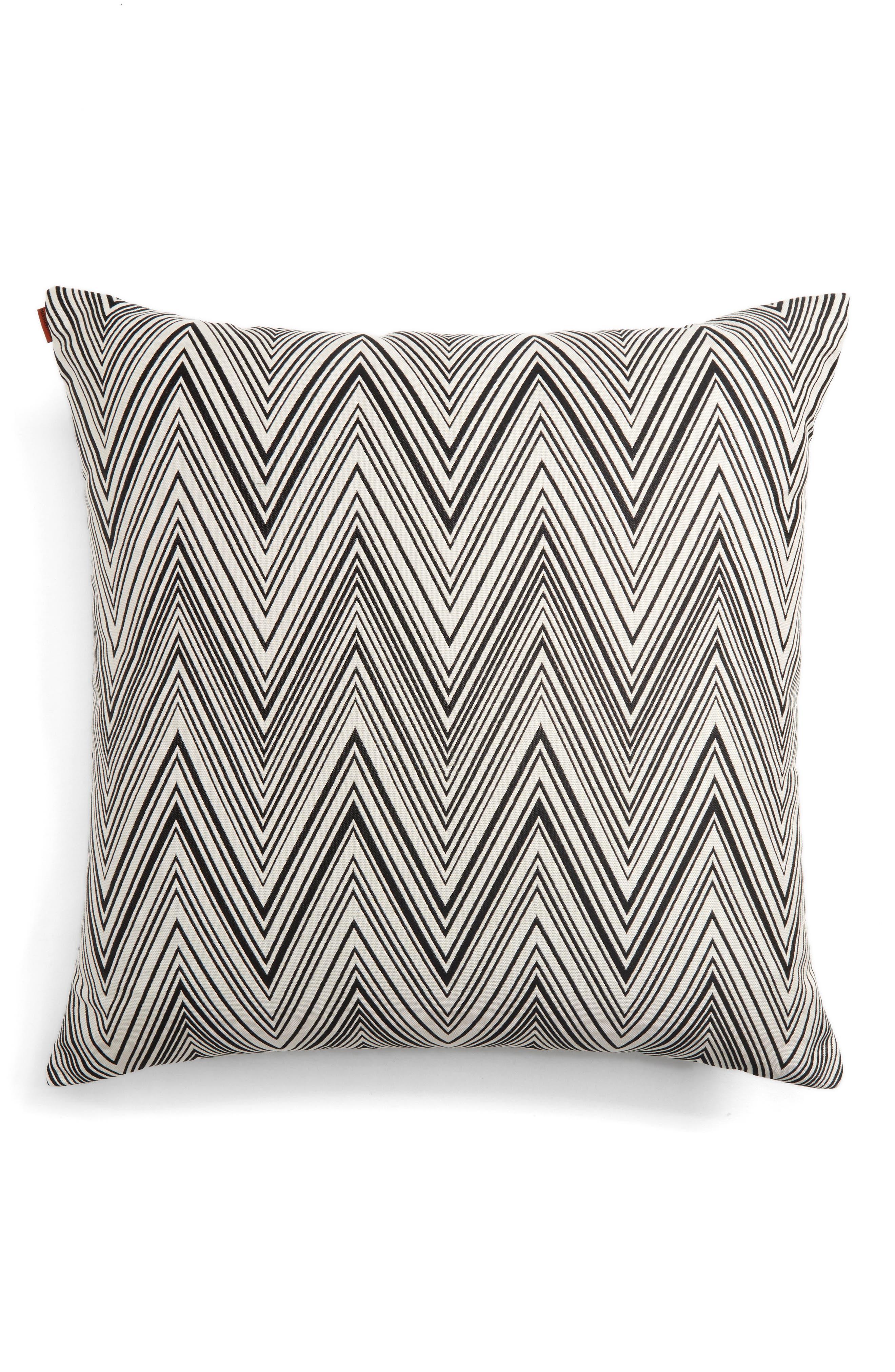 Chevron Accent Pillow,                         Main,                         color, 020