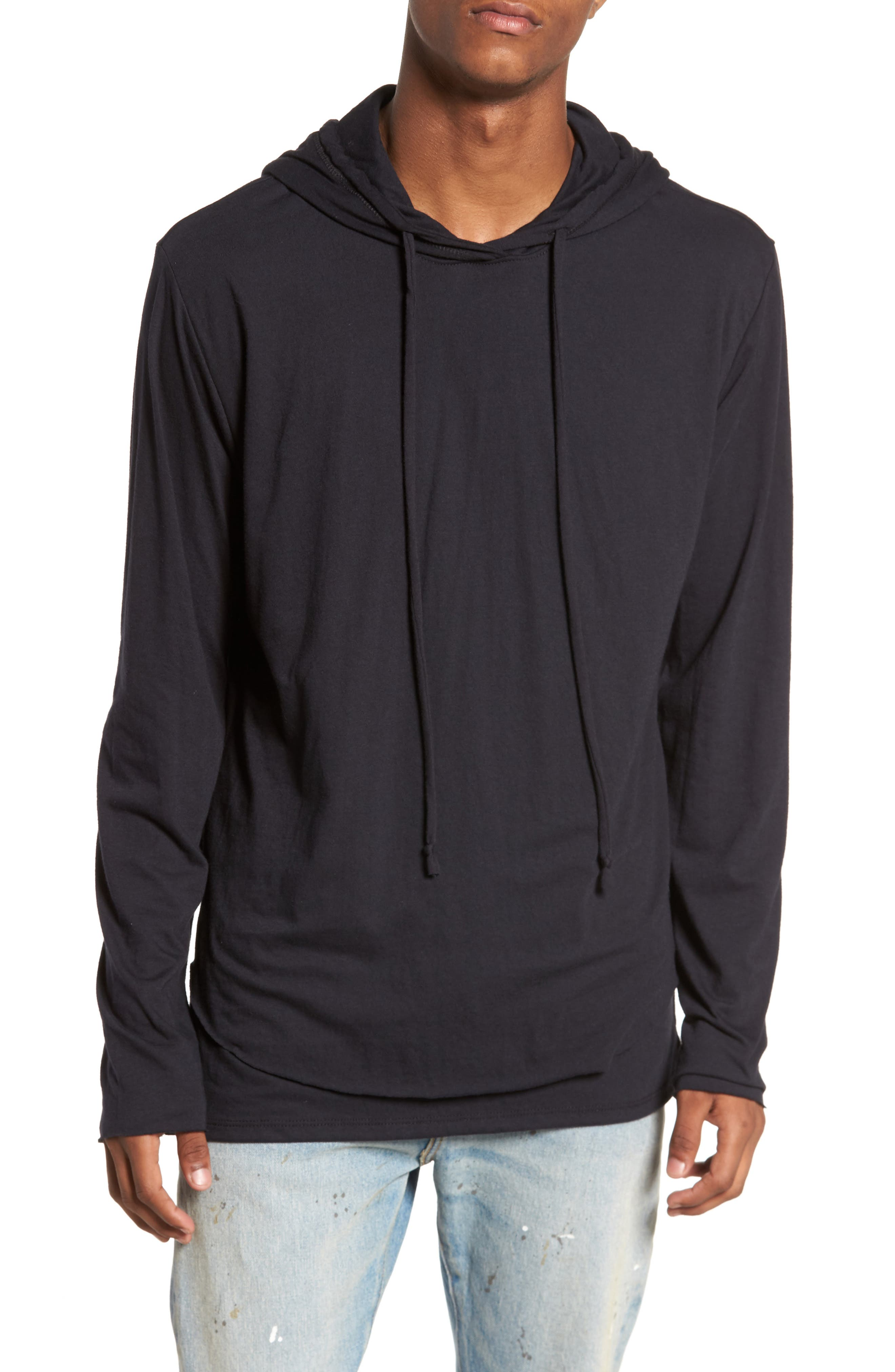 Lightweight Hoodie,                             Main thumbnail 1, color,                             001