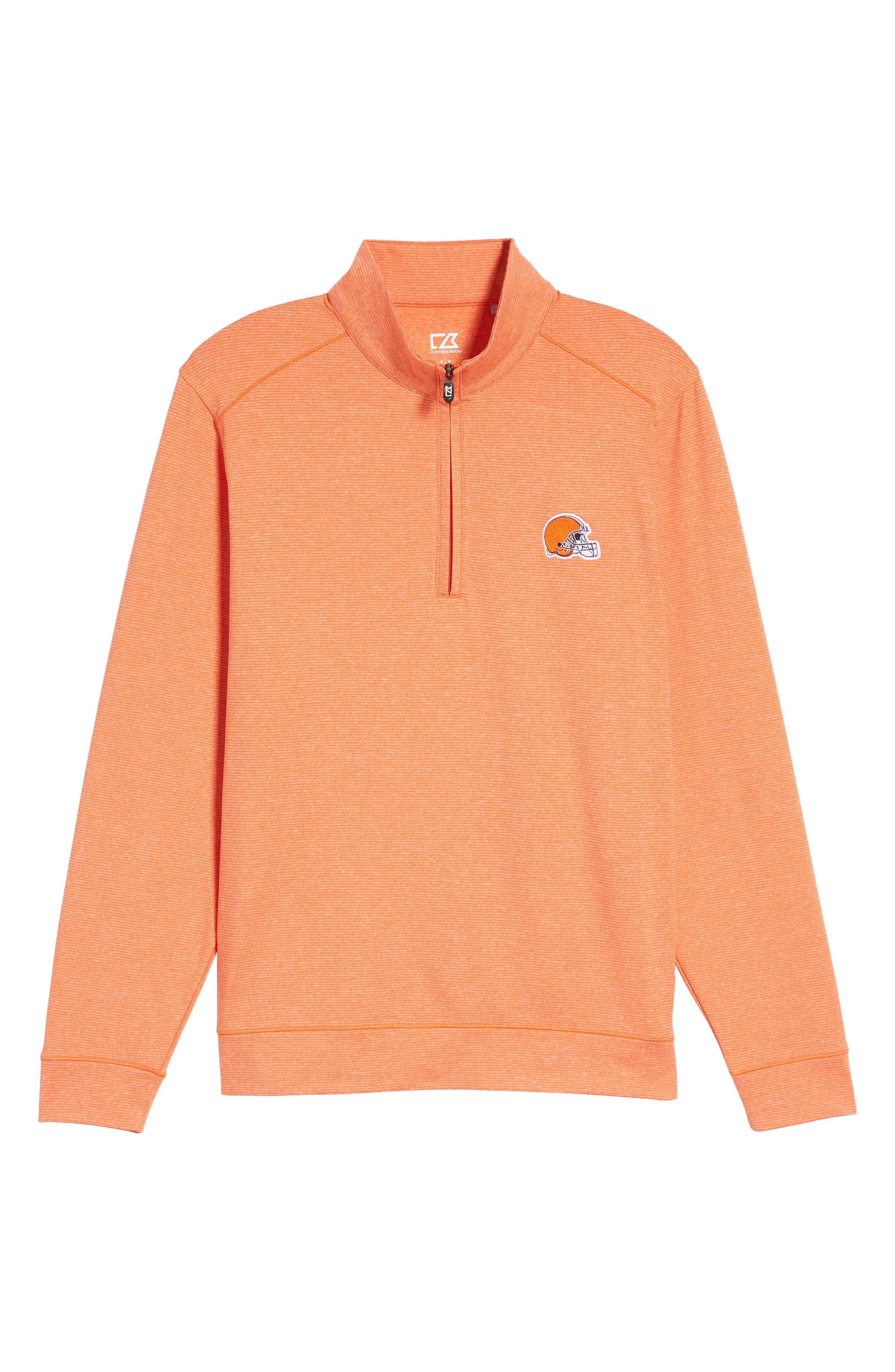 Shoreline - Cleveland Browns Half Zip Pullover,                             Alternate thumbnail 6, color,                             816