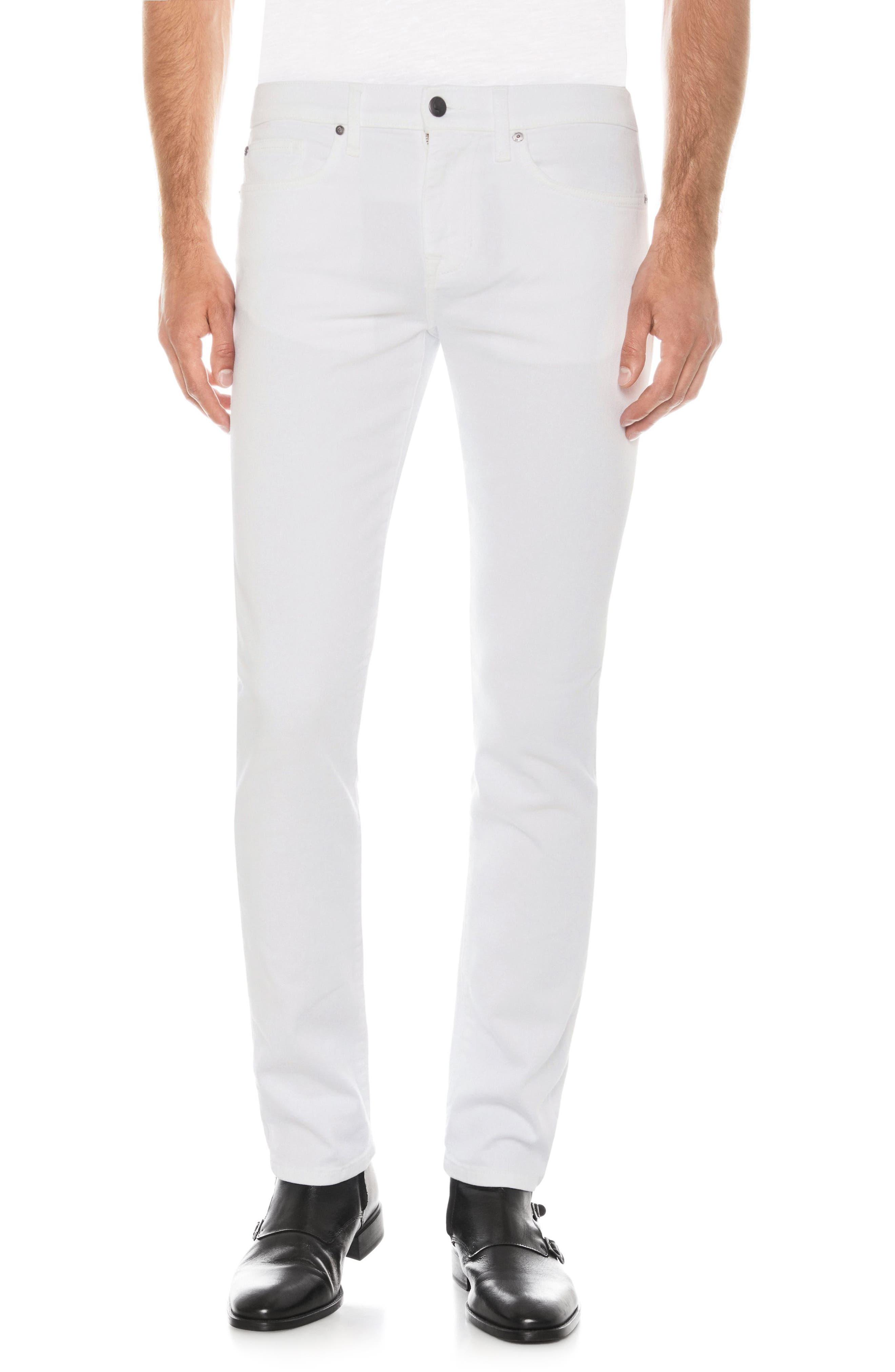 Brixton Slim Straight Leg Jeans,                         Main,                         color, 100