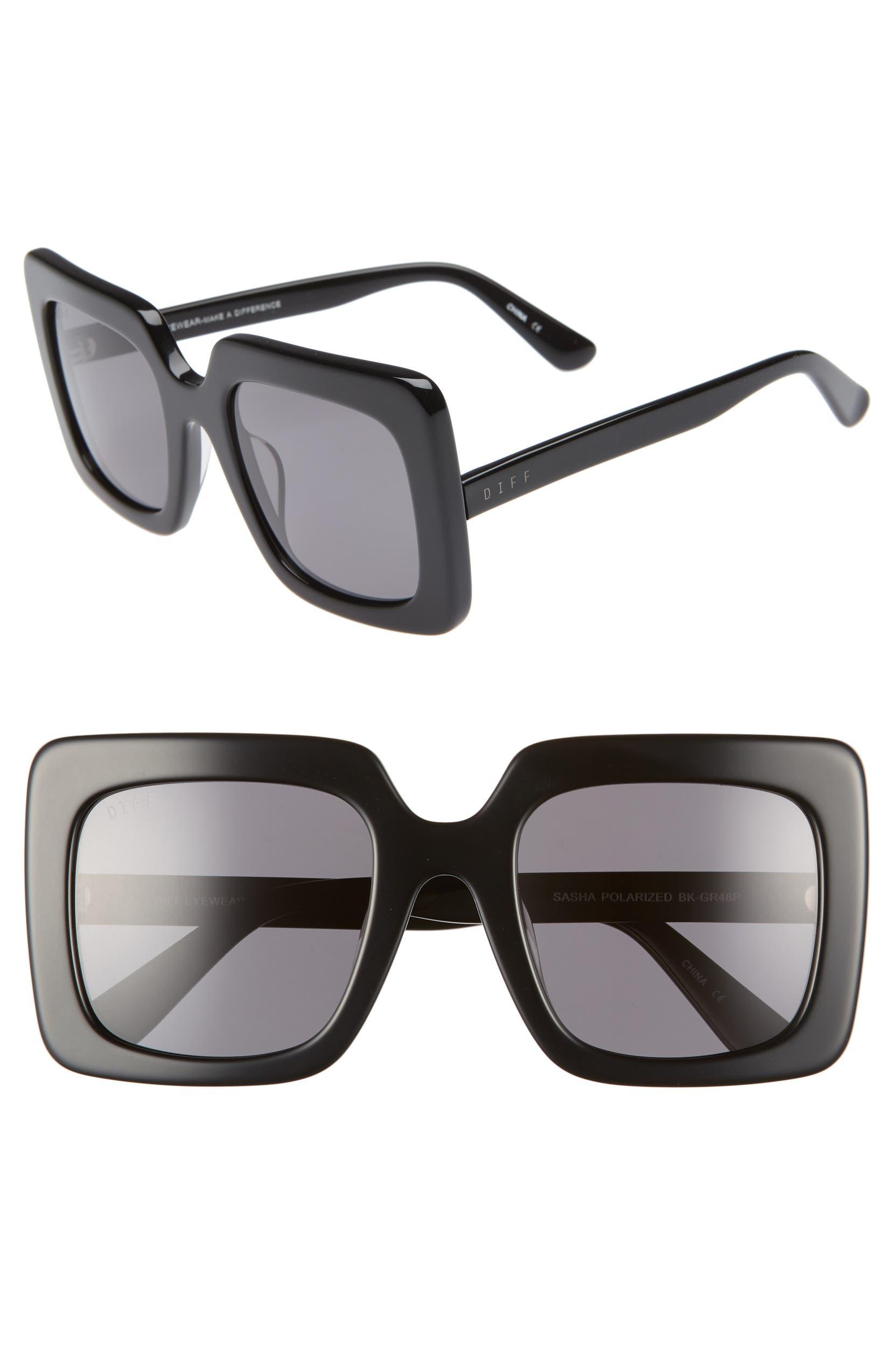 afbe2c6f4d DIFF Sasha 53mm Polarized Sunglasses