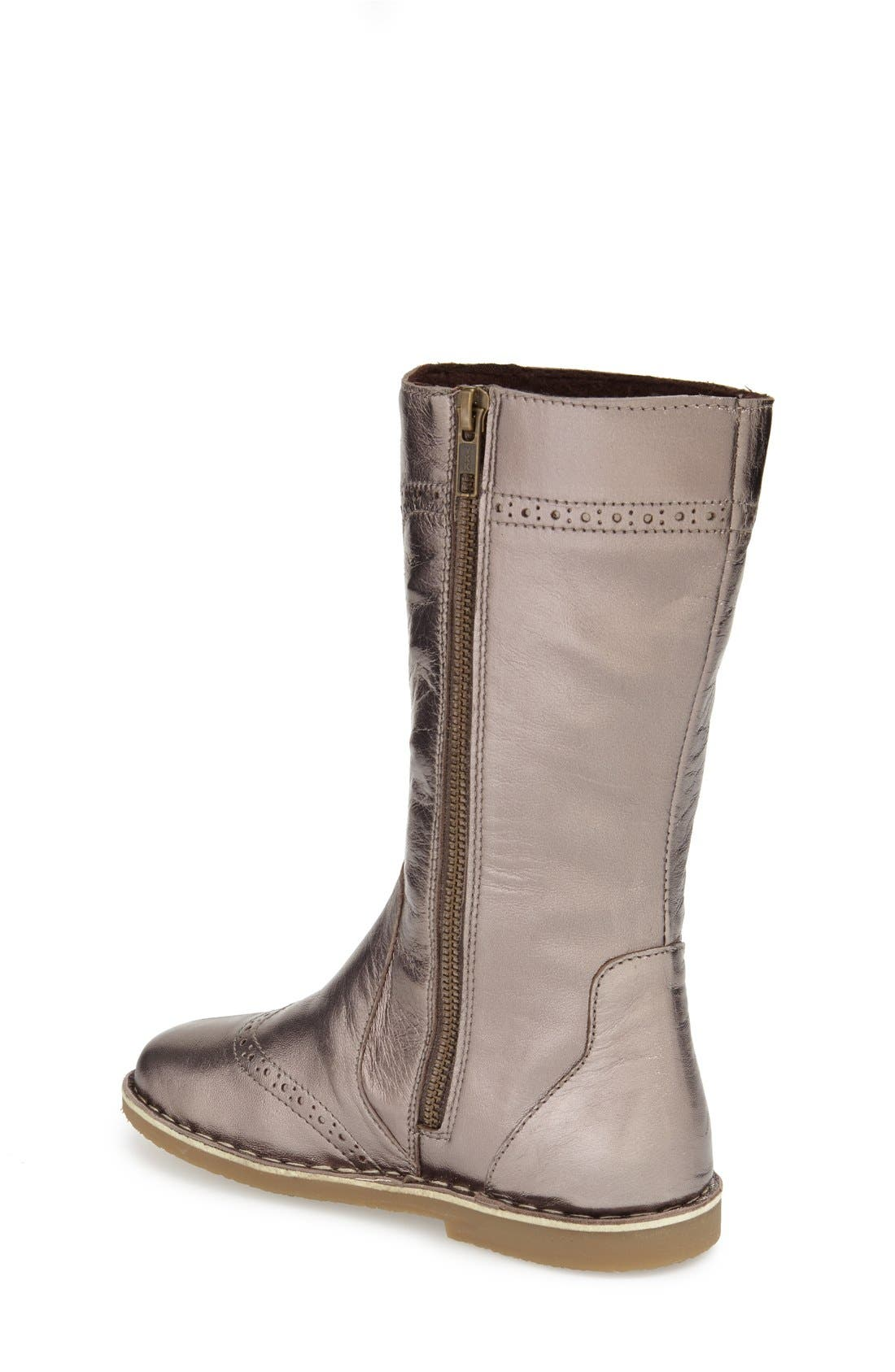 Tall Leather Boot,                             Alternate thumbnail 13, color,