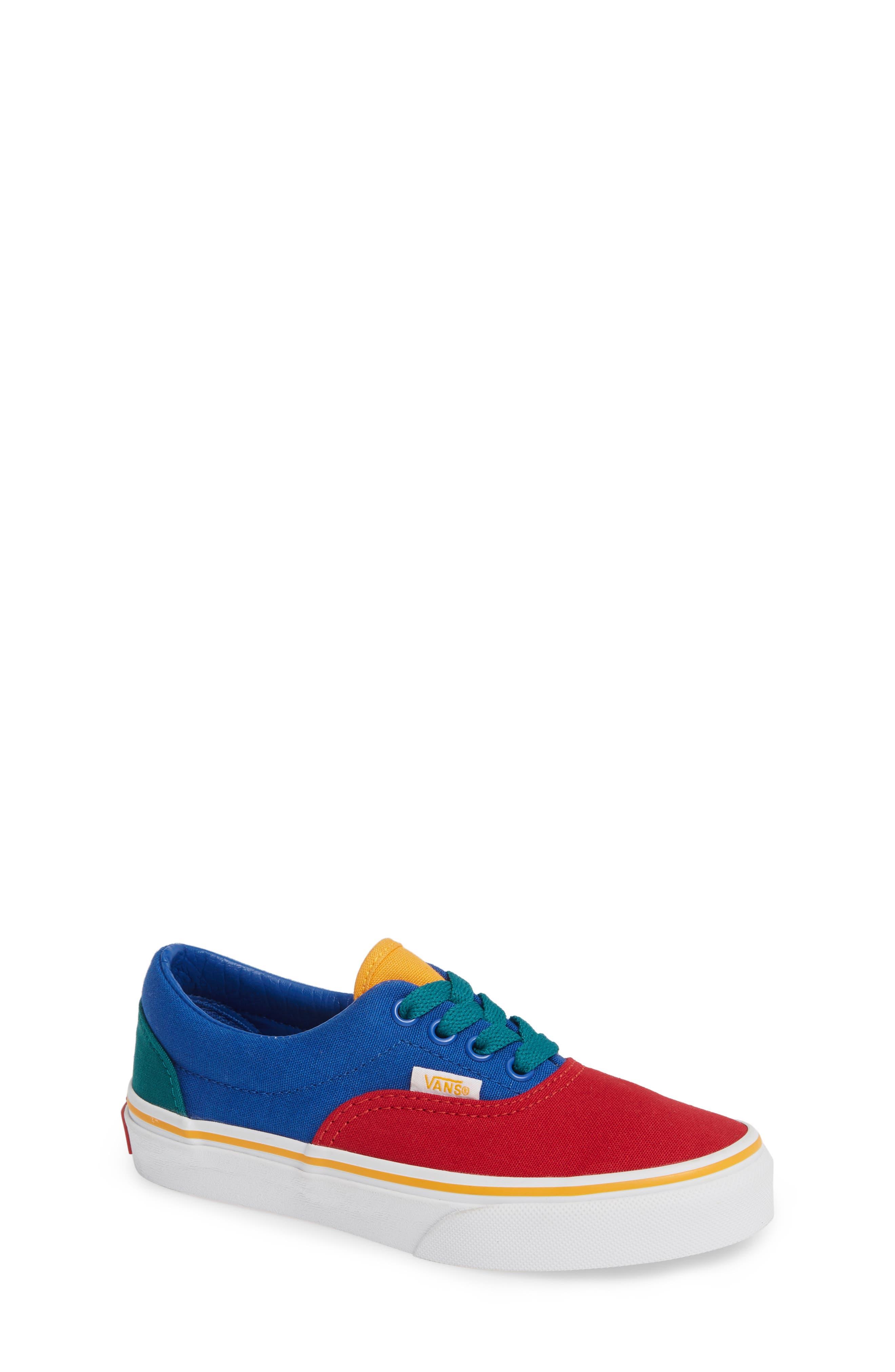 'Era' Sneaker,                             Main thumbnail 1, color,                             LAPIS BLUE/ TRUE WHITE