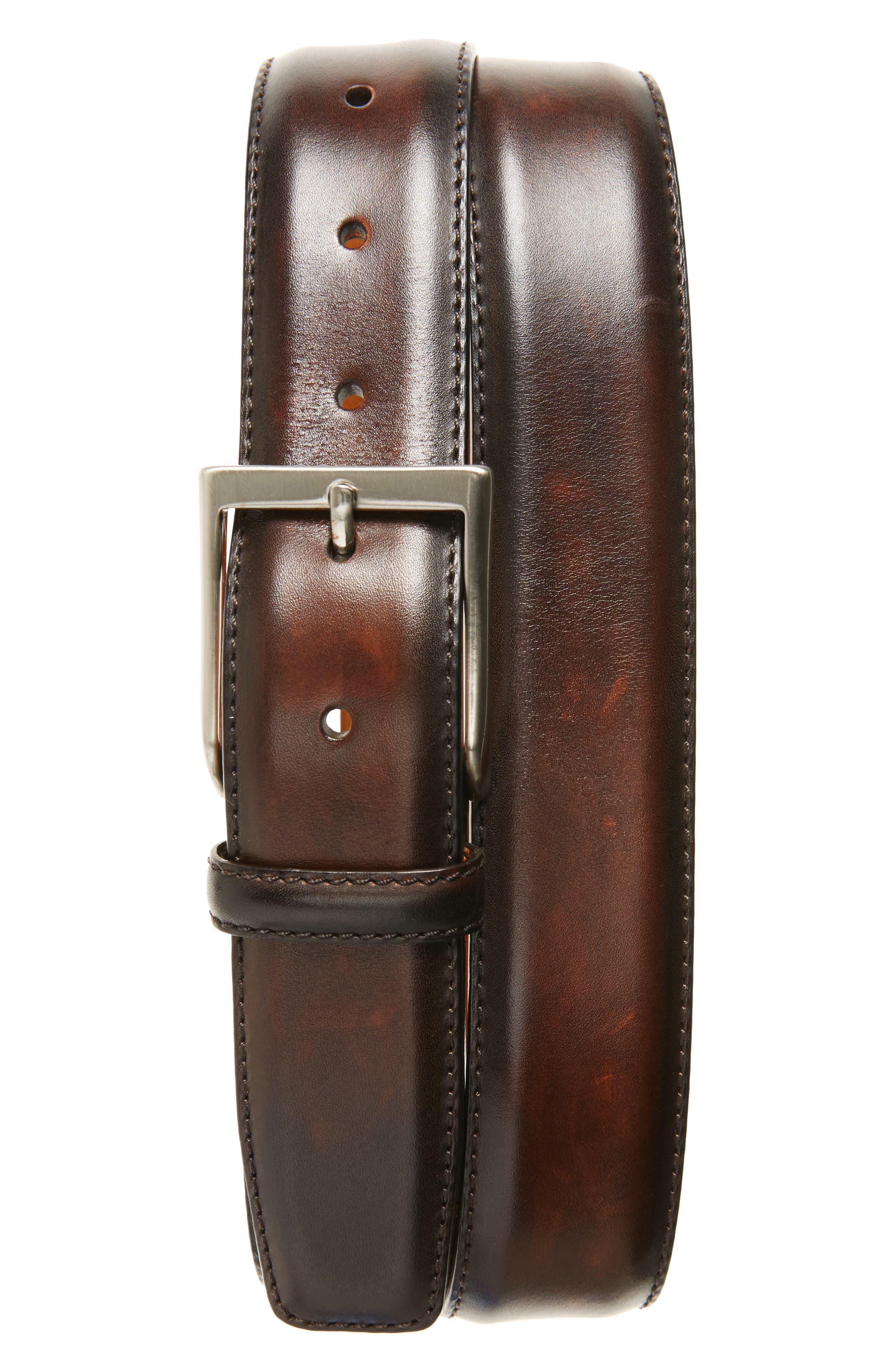 Wind Leather Belt,                         Main,                         color, 200