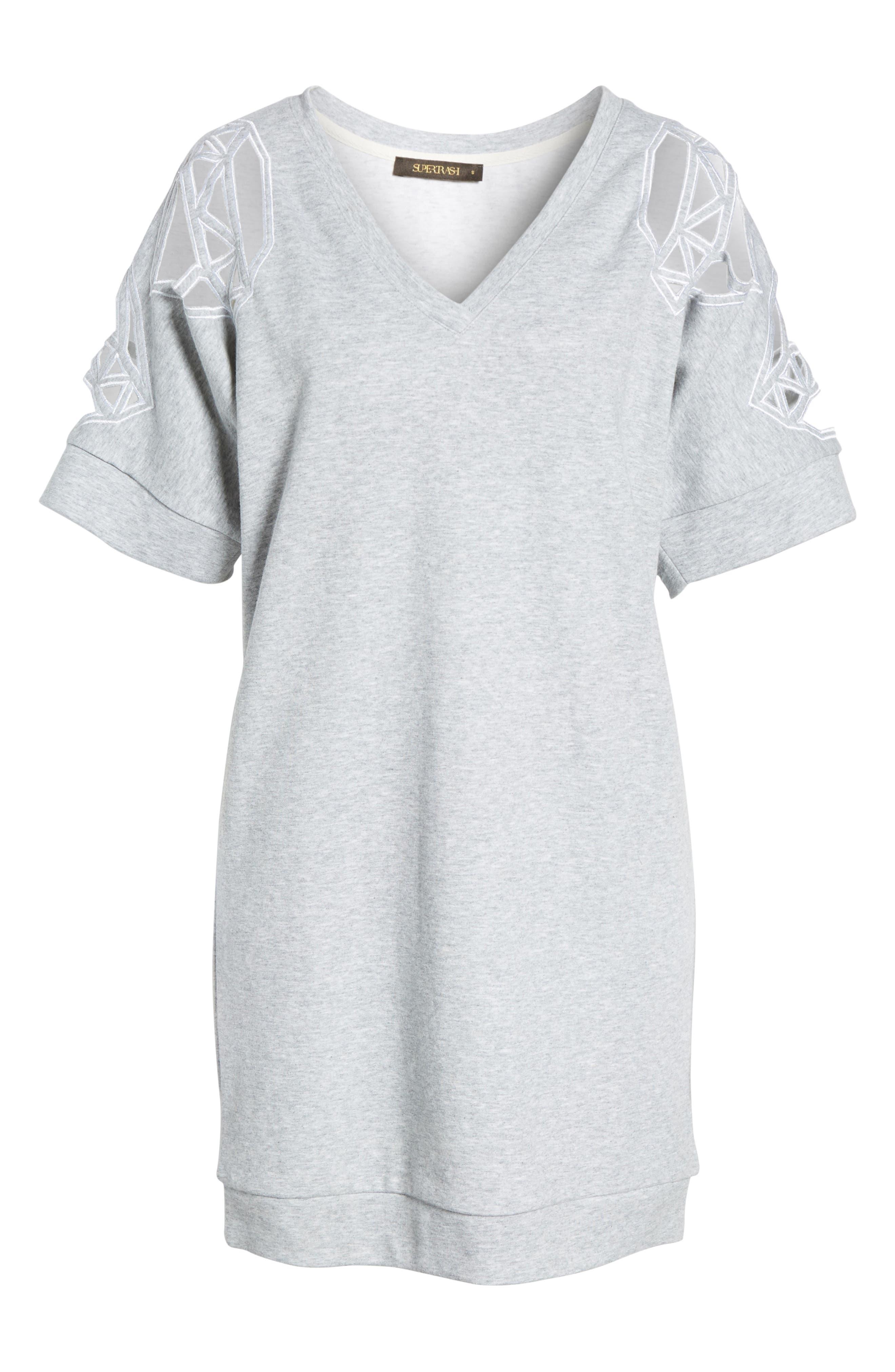 Daffic Sweatshirt Dress,                             Alternate thumbnail 6, color,                             020