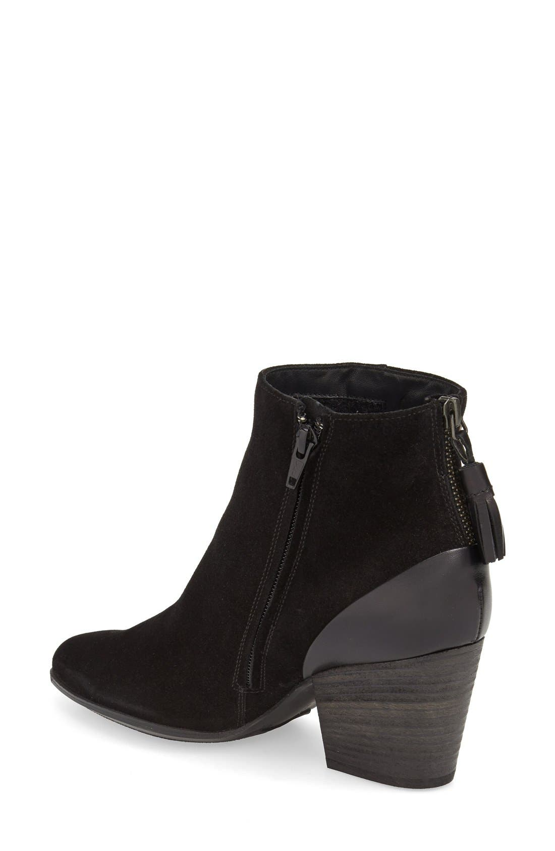 'Jada' Water Resistant Bootie,                             Alternate thumbnail 2, color,                             003