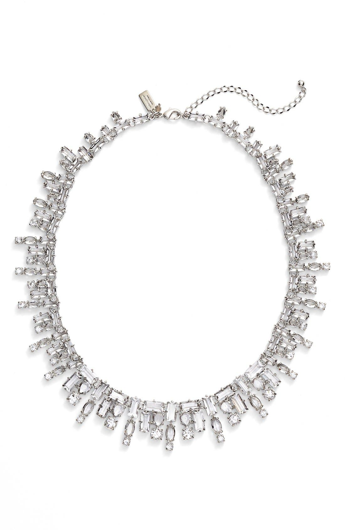 KATE SPADE NEW YORK 'catching light' collar necklace, Main, color, 710