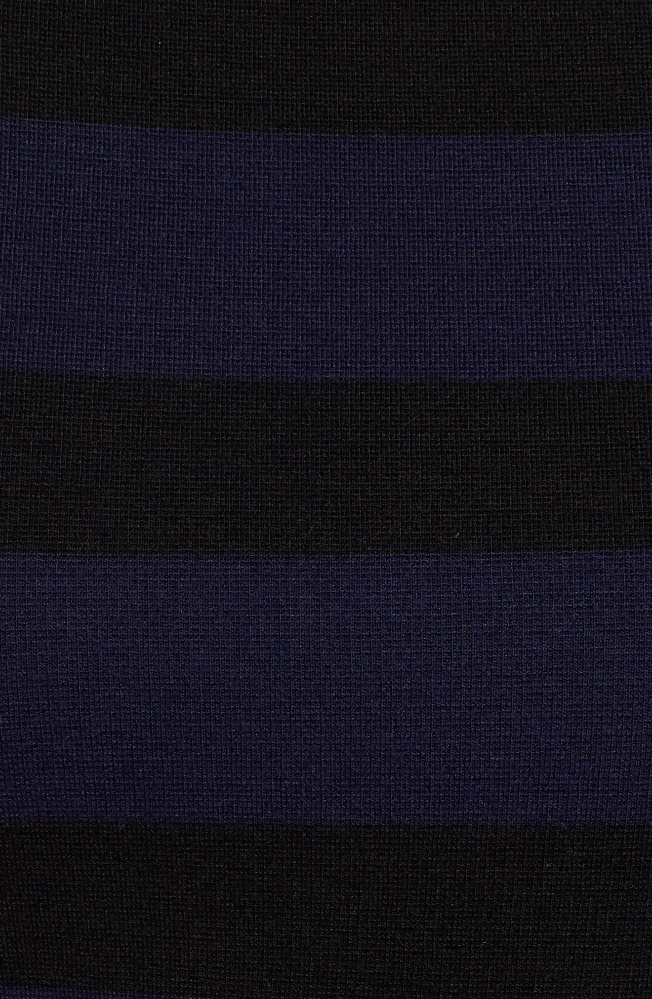 BOSS,                             Elive Stripe Top,                             Alternate thumbnail 6, color,                             462