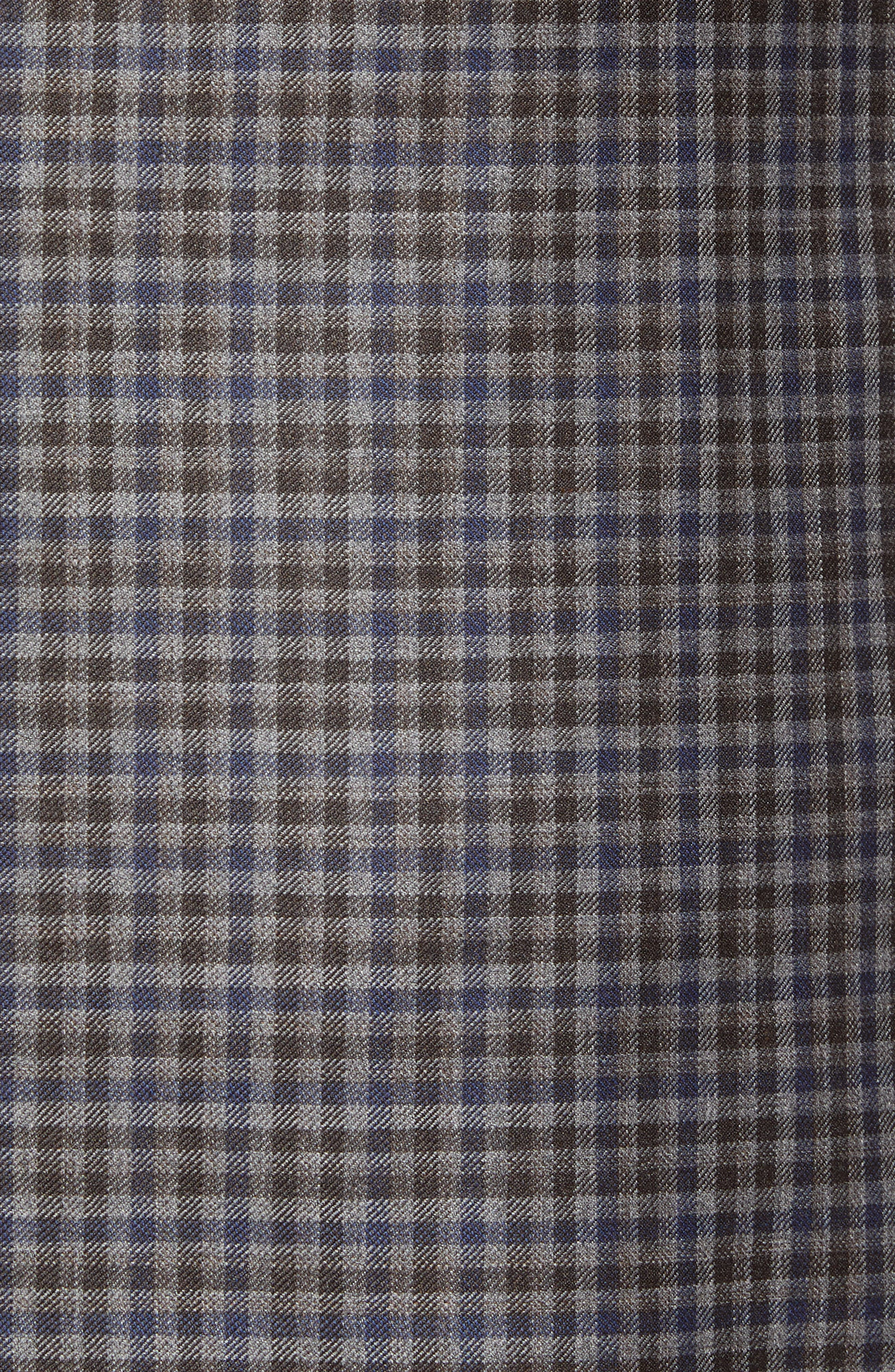 Connor Classic Fit Check Wool Sport Coat,                             Alternate thumbnail 6, color,                             020